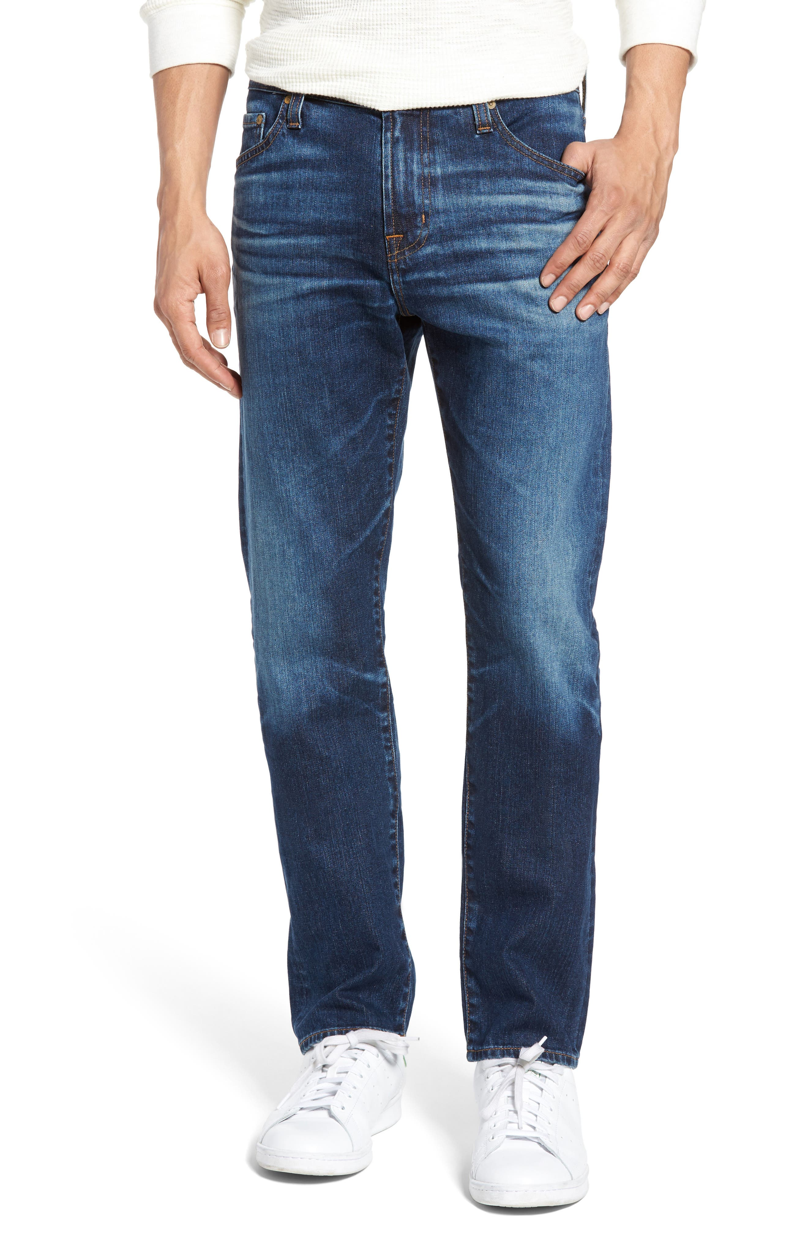 AG Everett Slim Straight Leg Jeans (6 Years Projector)