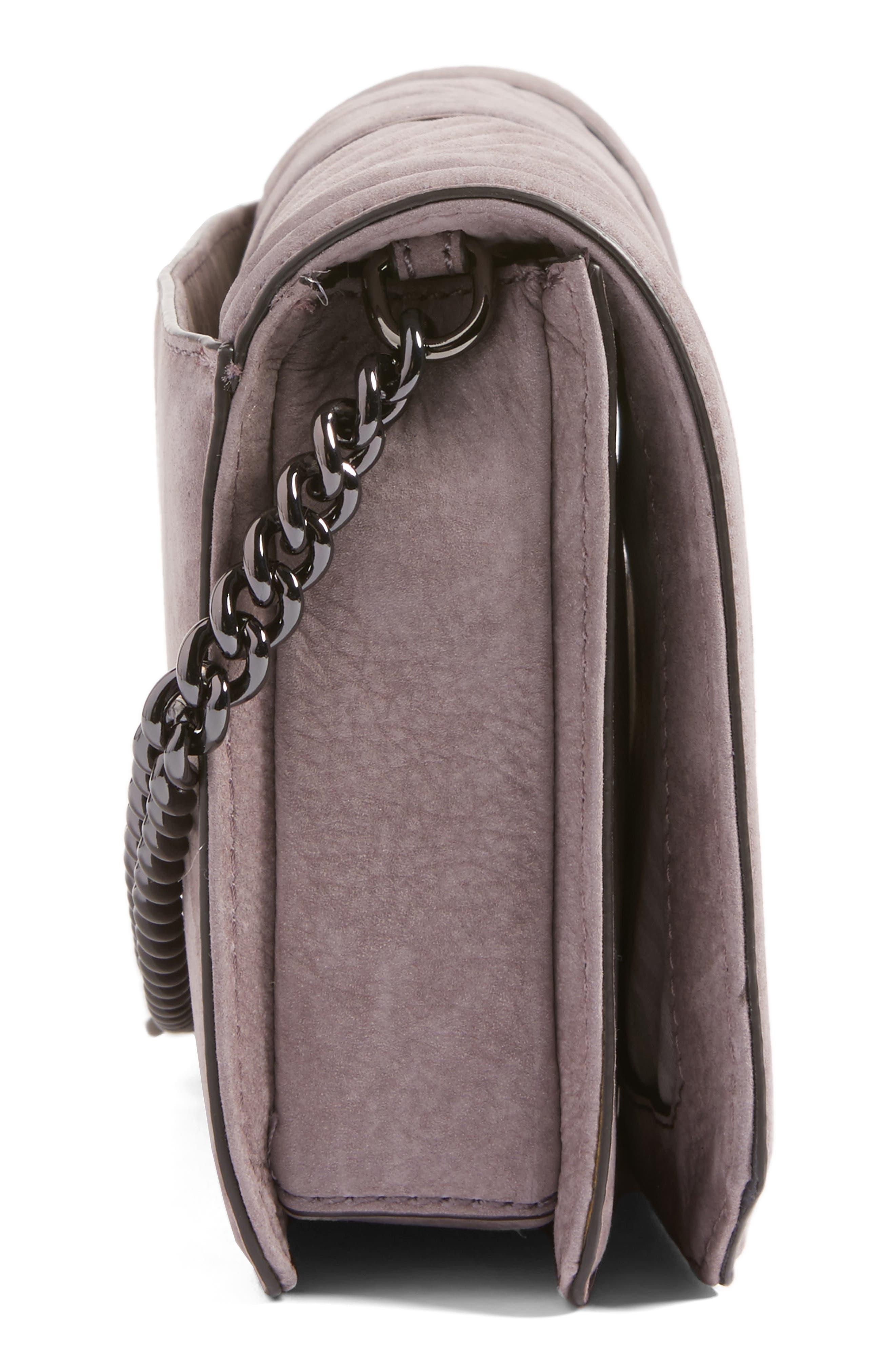 Alternate Image 5  - Rebecca Minkoff Small Love Nubuck Crossbody Bag (Nordstrom Exclusive)