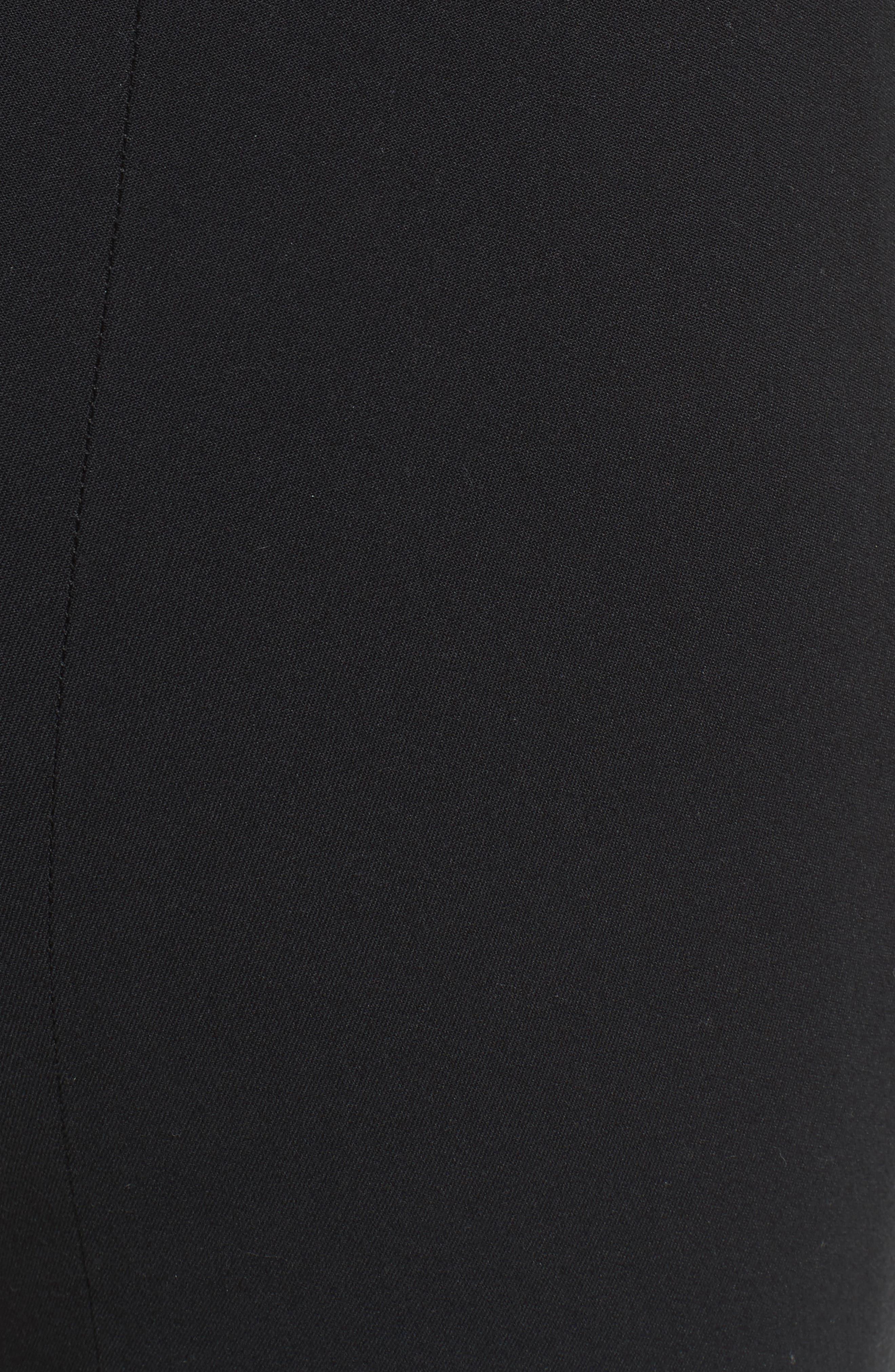 High Waist Leggings,                             Alternate thumbnail 5, color,                             Black