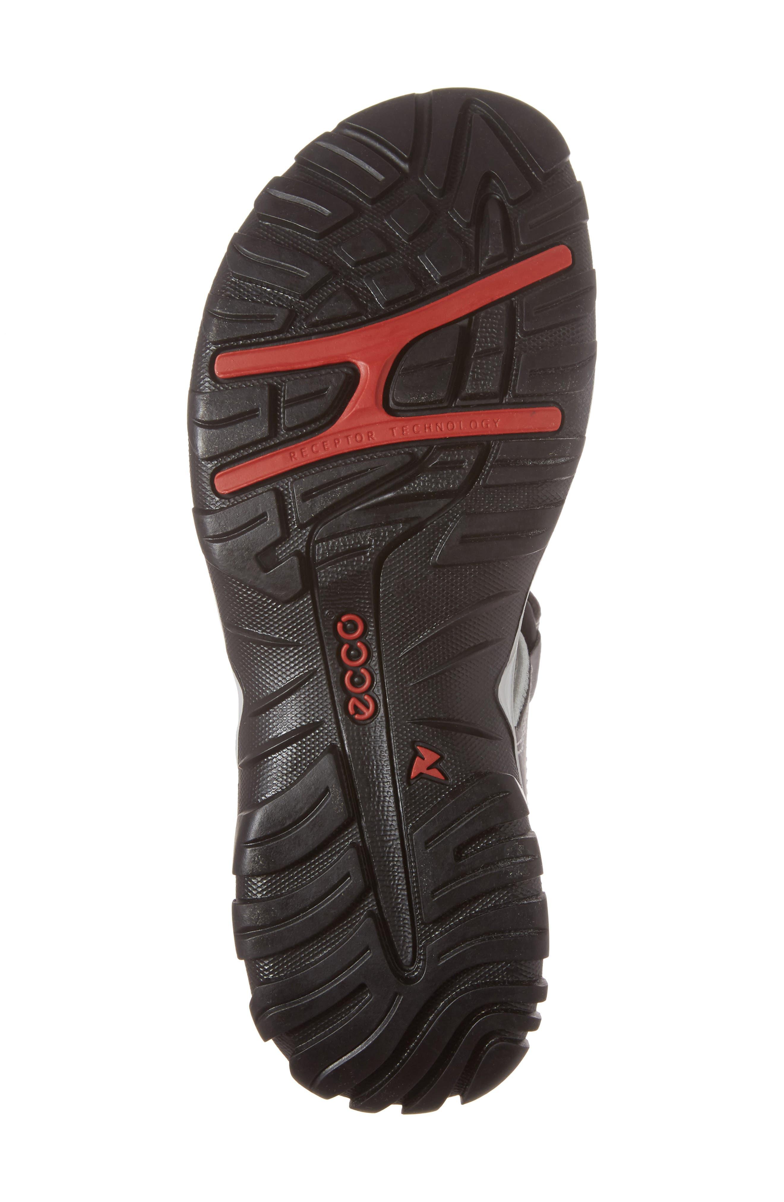 'Offroad' Lightweight Sandal,                             Alternate thumbnail 6, color,                             Titanium Leather