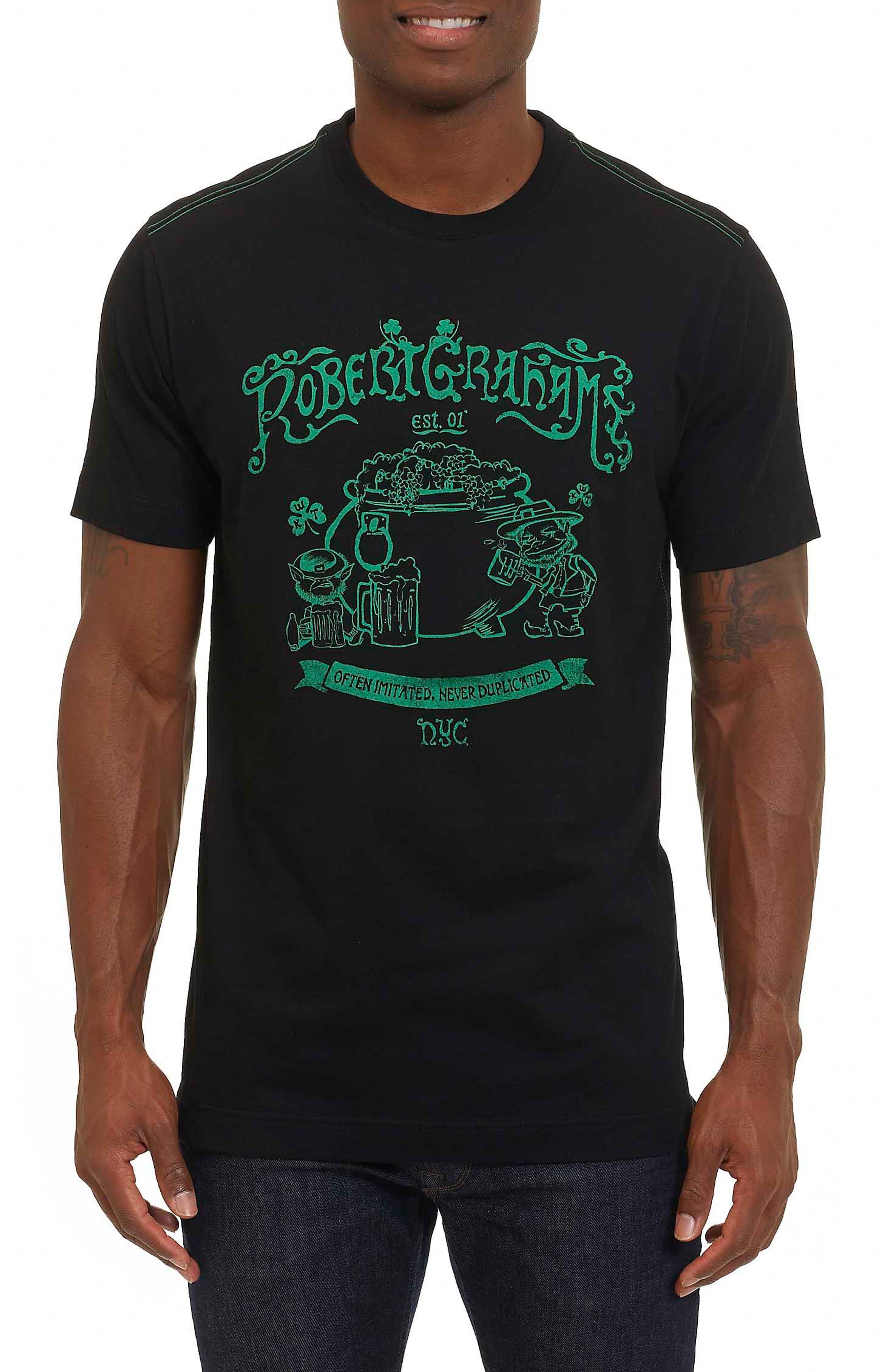 Robert Graham Fools Gold Graphic T-Shirt