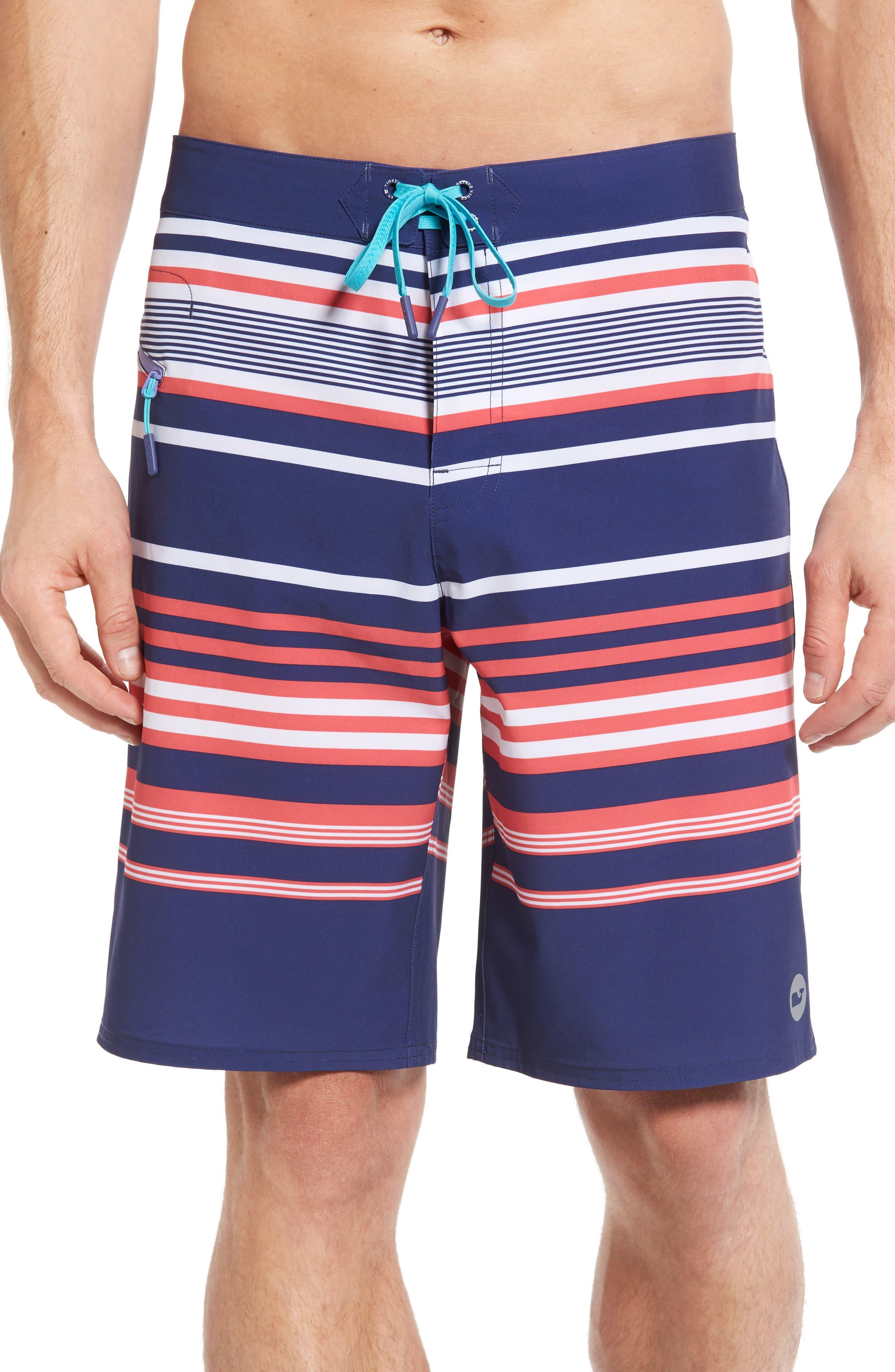 Vineyard Vines Americana Stripe Board Shorts