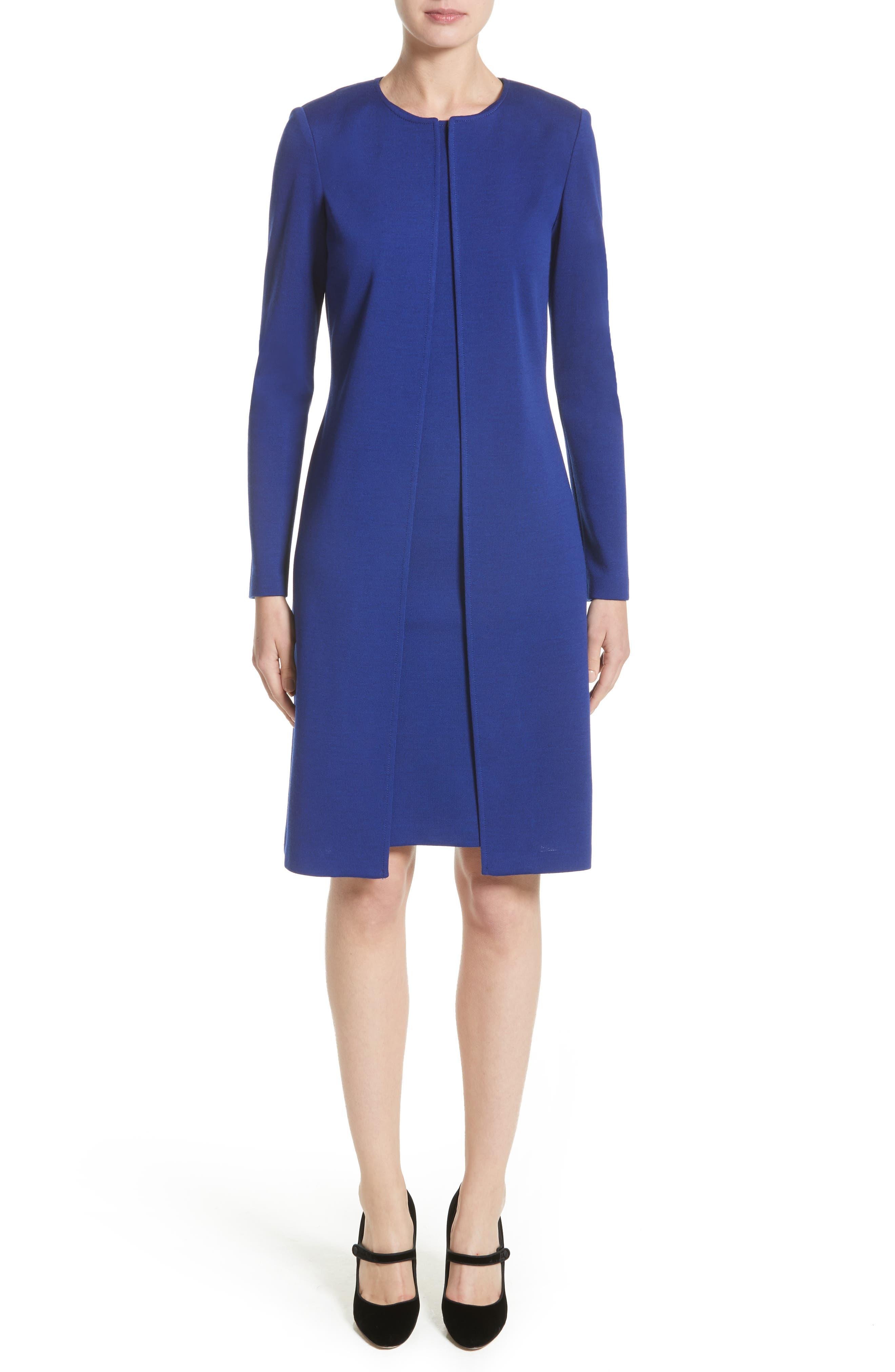 Alternate Image 7  - St. John Collection Milano Knit Sheath Dress