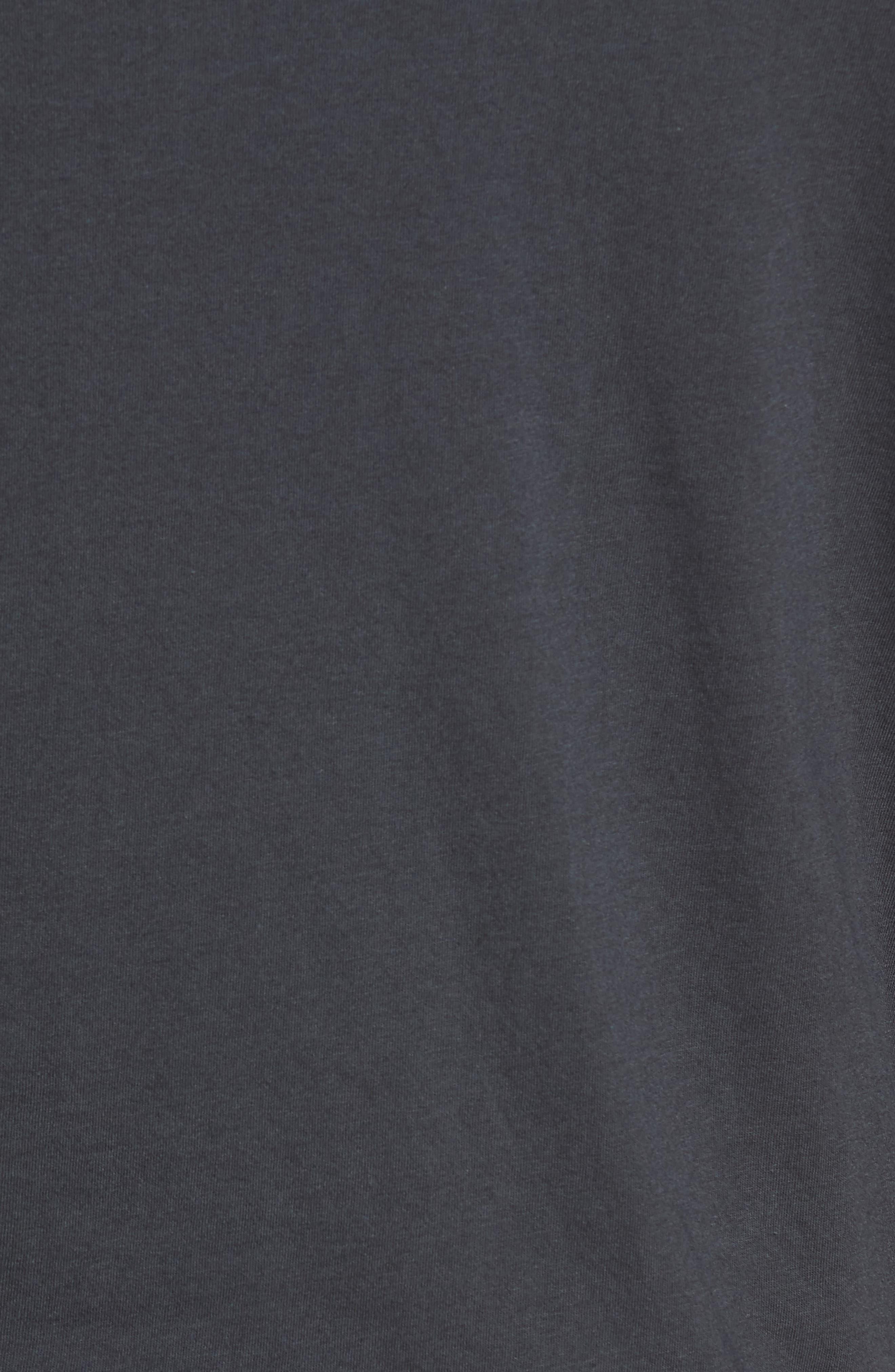 Ramones Raglan T-Shirt,                             Alternate thumbnail 5, color,                             Coal