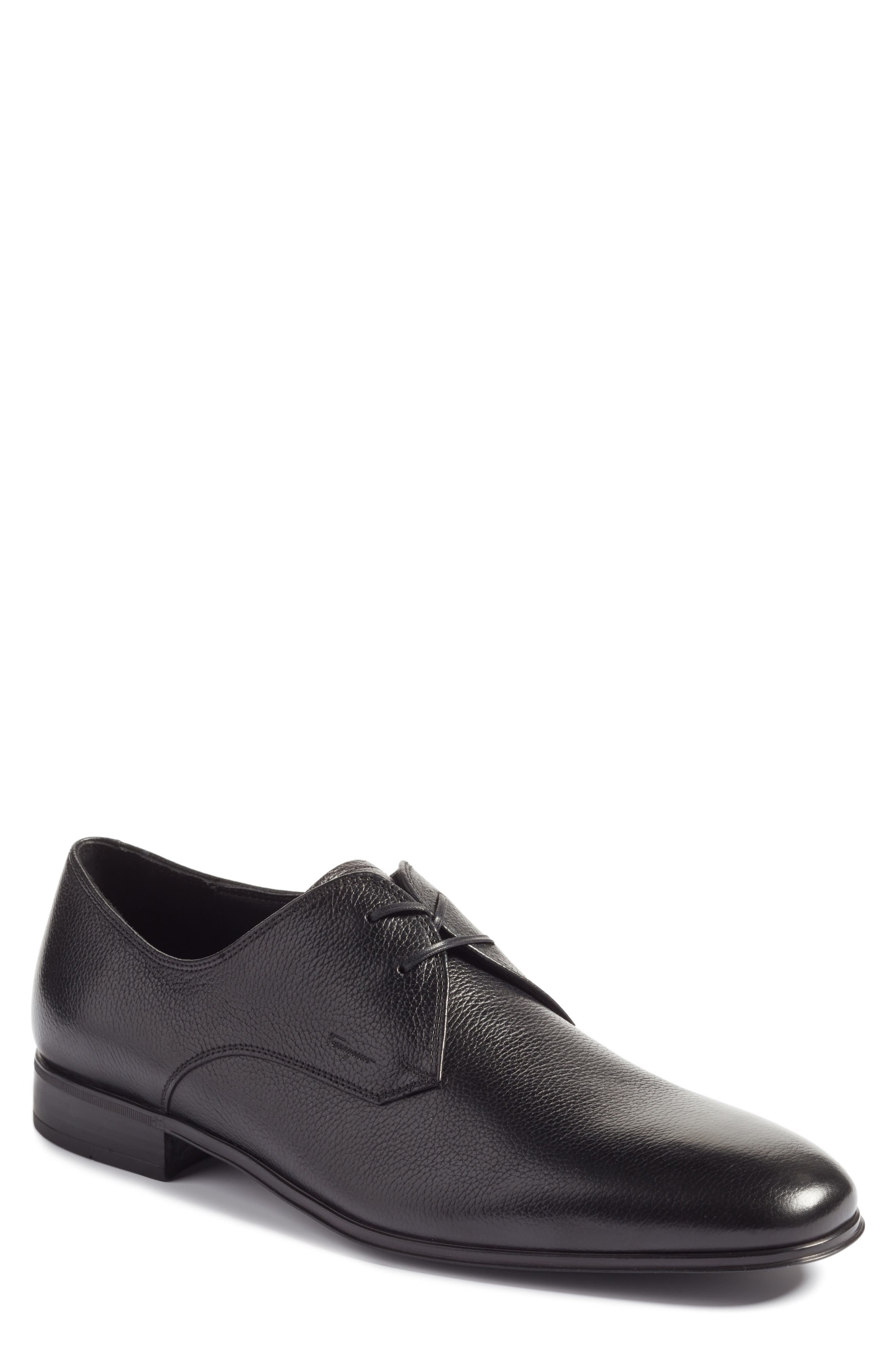 Salvatore Ferragamo Fortunato 2 Plain Toe Derby (Men)