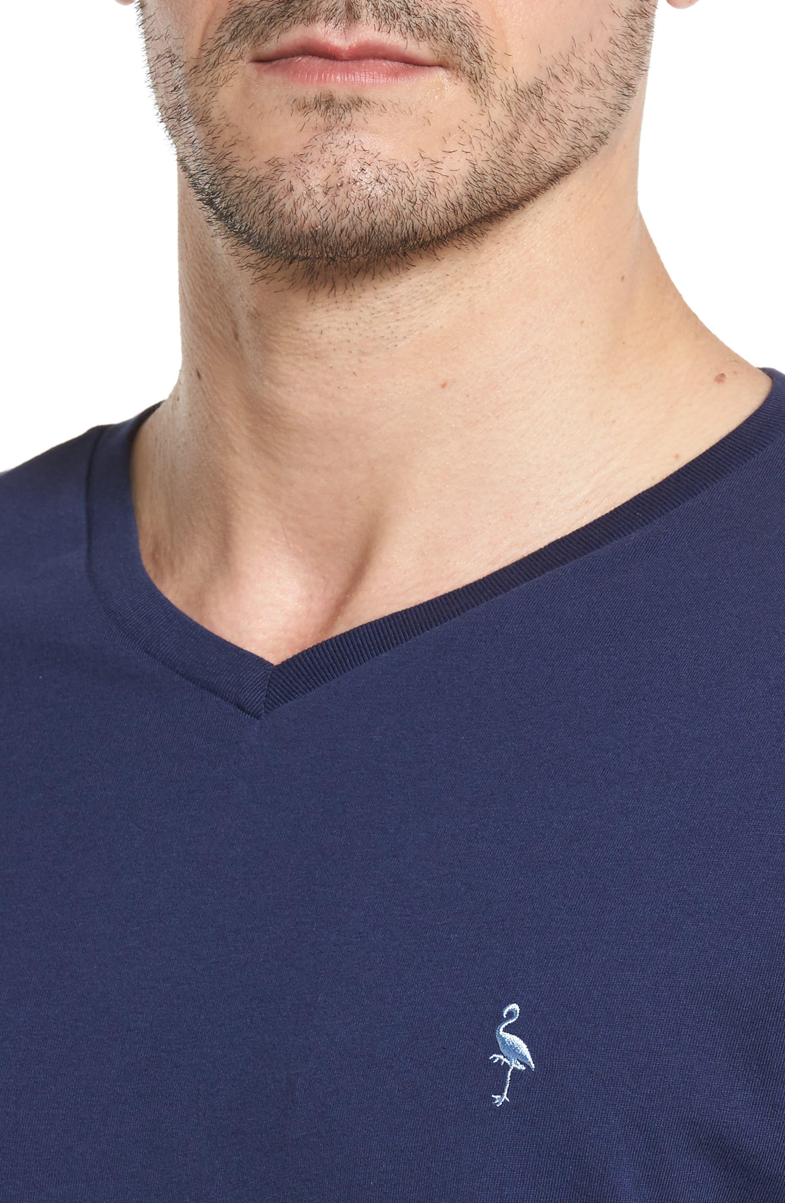 Alternate Image 4  - TailorByrd V-Neck T-Shirt