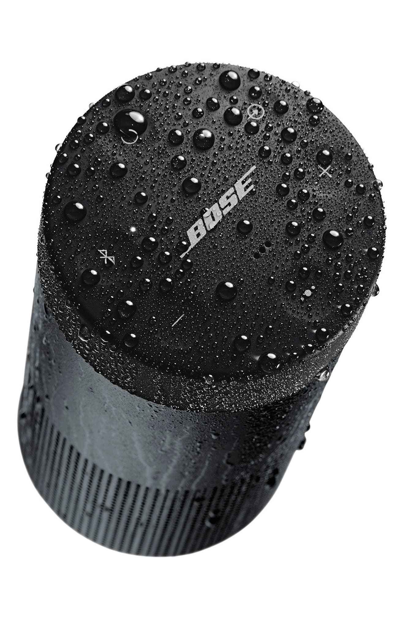 SoundLink<sup>®</sup> Revolve Bluetooth<sup>®</sup> Speaker,                             Alternate thumbnail 4, color,                             Black