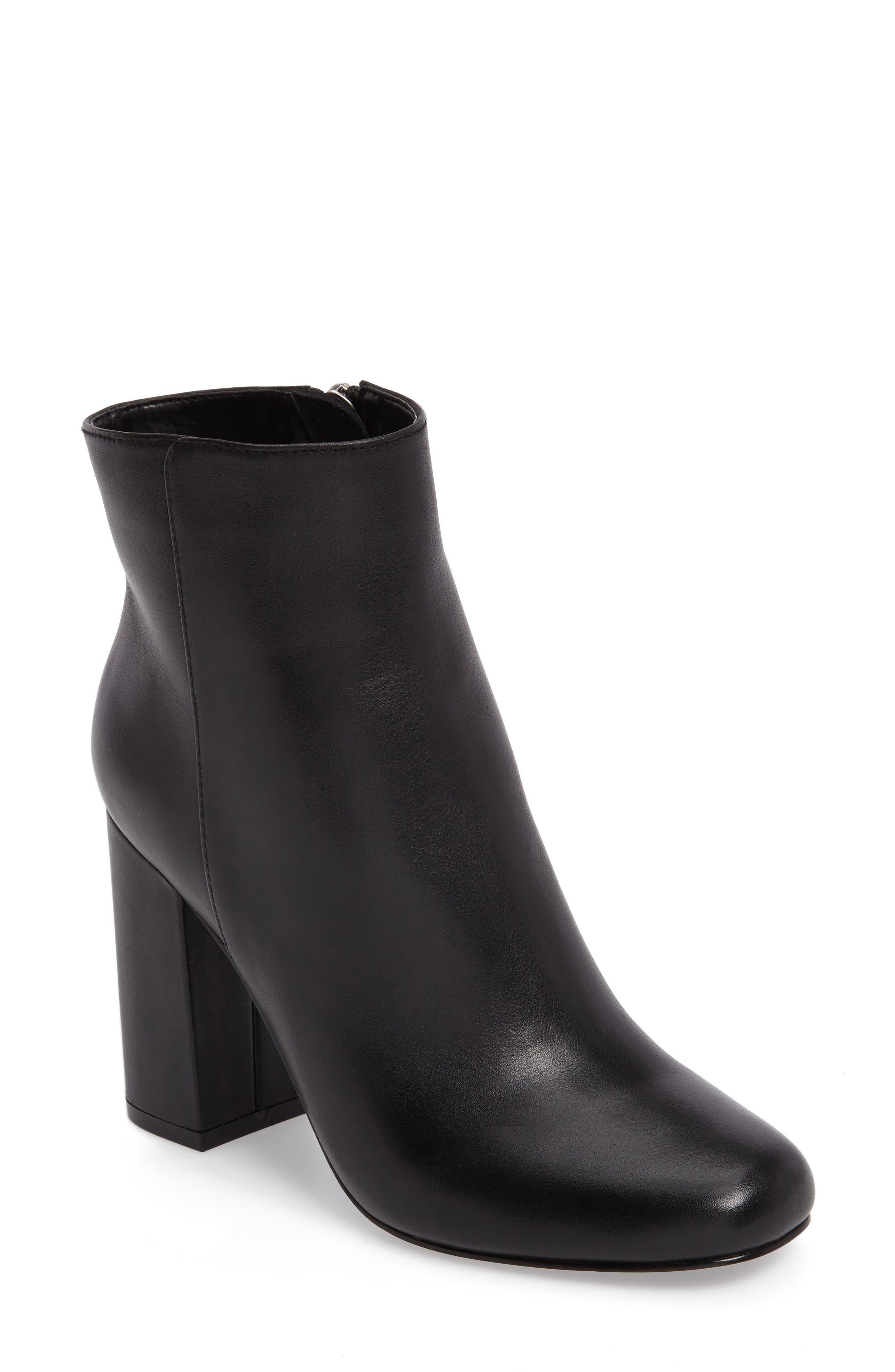 Charles David Studio Block Heel Bootie (Women)