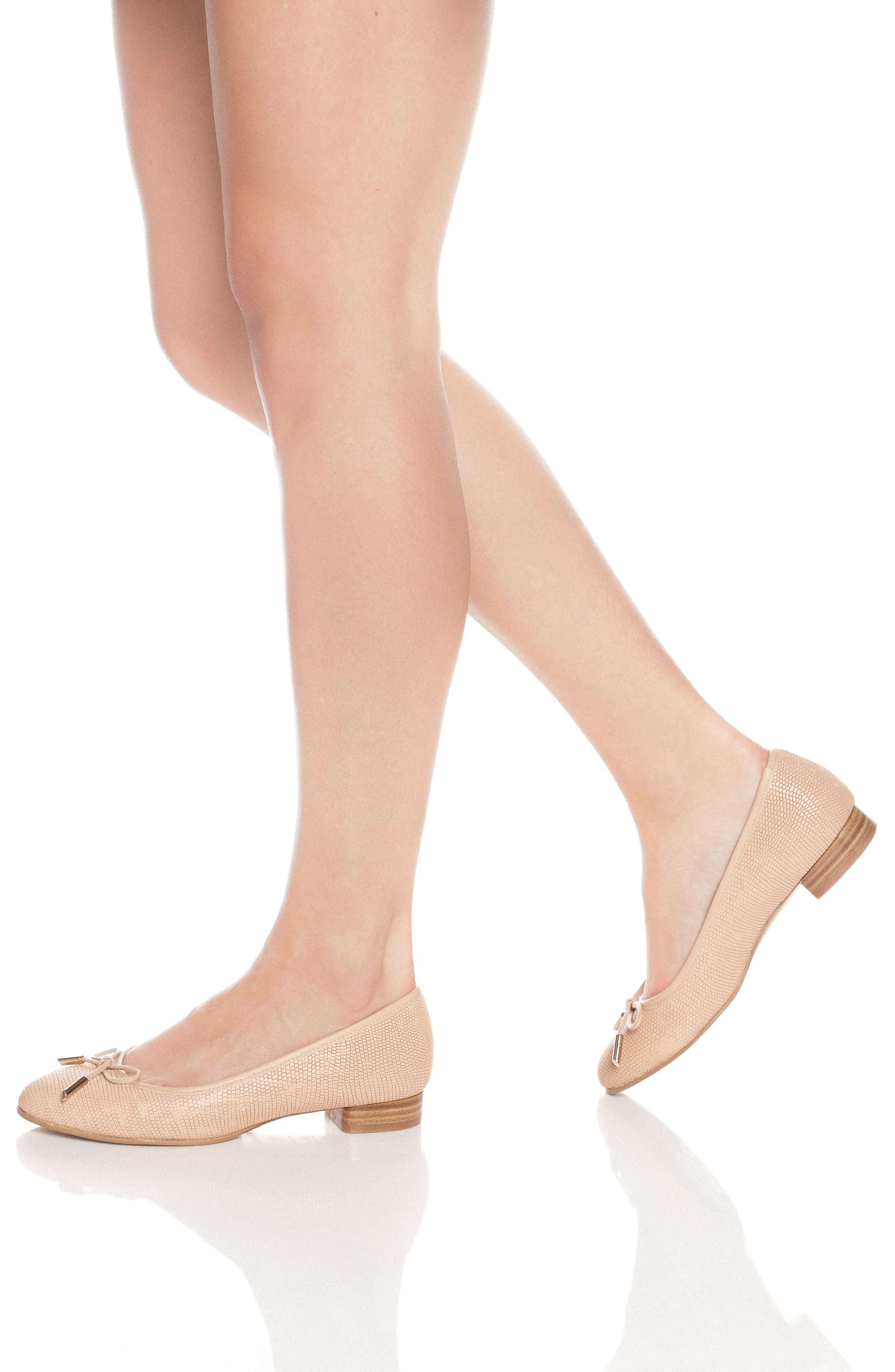 Alternate Image 5  - UKIES Lara Ballet Flat (Women)