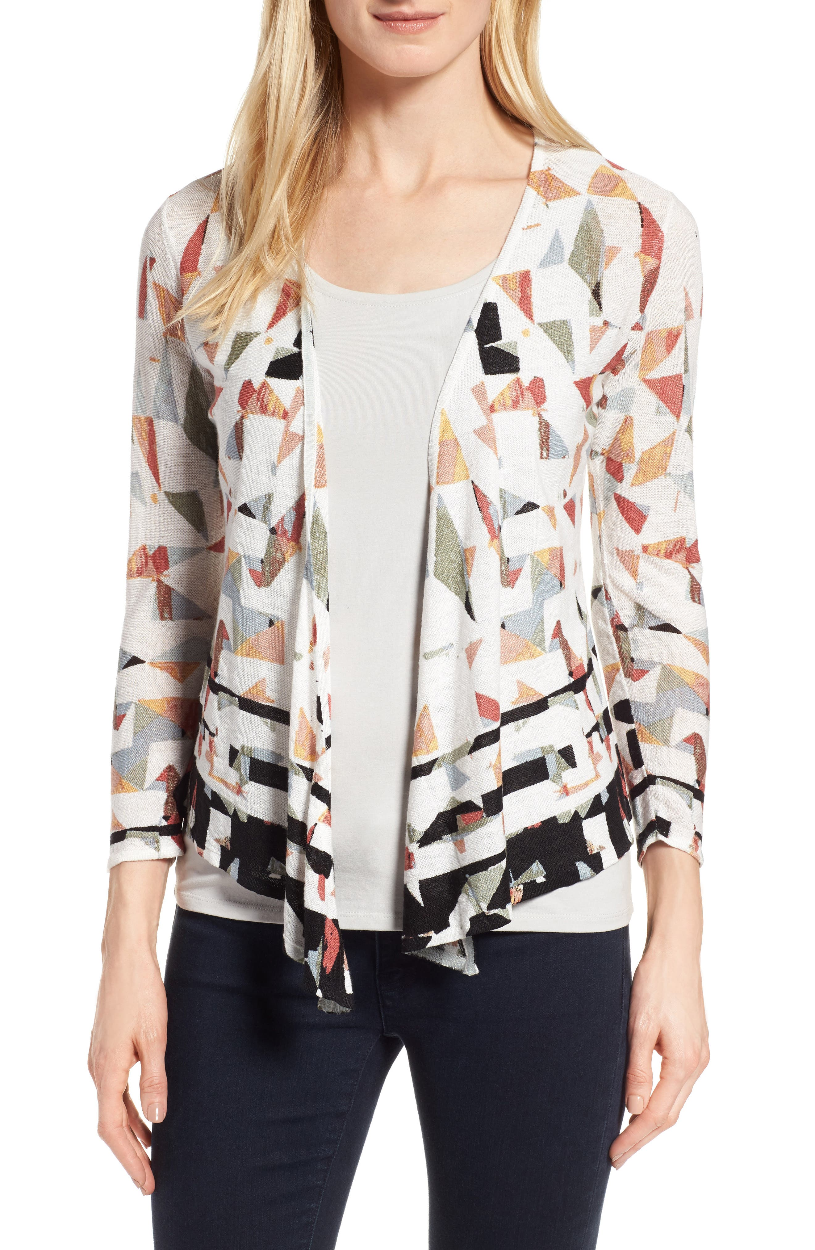 NIC+ZOE Grand View 4-Way Convertible Cardigan (Regular & Petite)