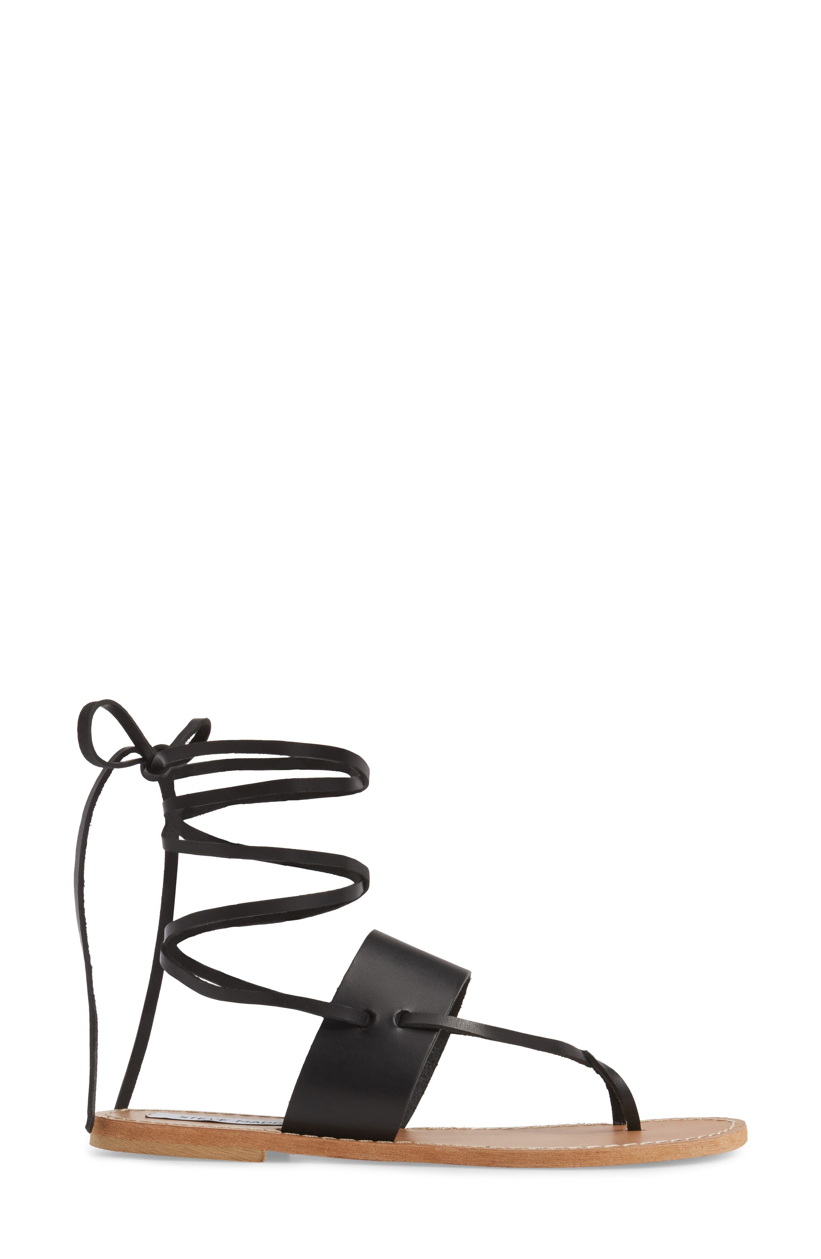 Alternate Image 3  - Steve Madden Bianca Lace-Up Sandal (Women)