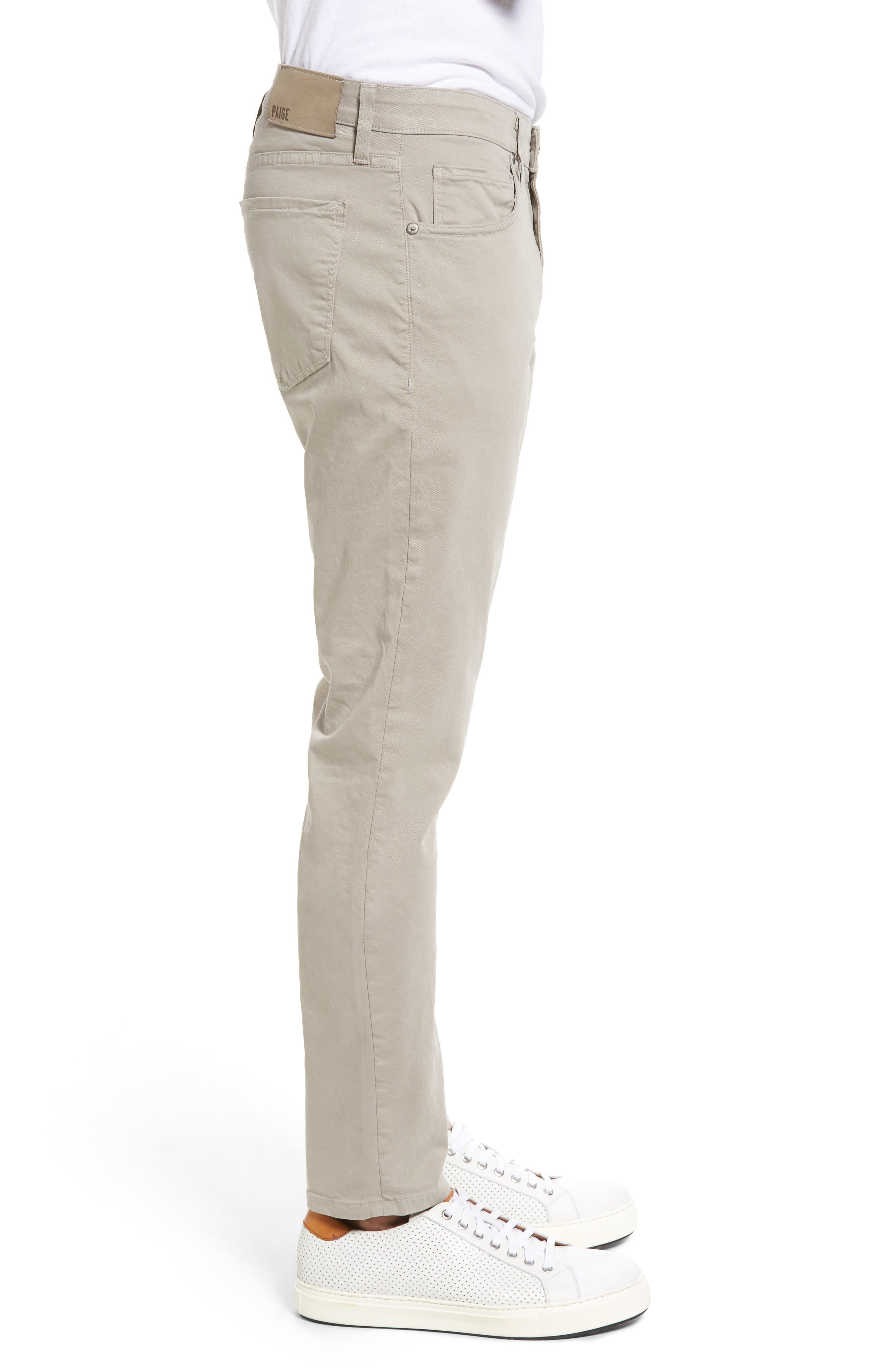 Lennox Skinny Fit Pants,                             Alternate thumbnail 3, color,                             Grey Coast