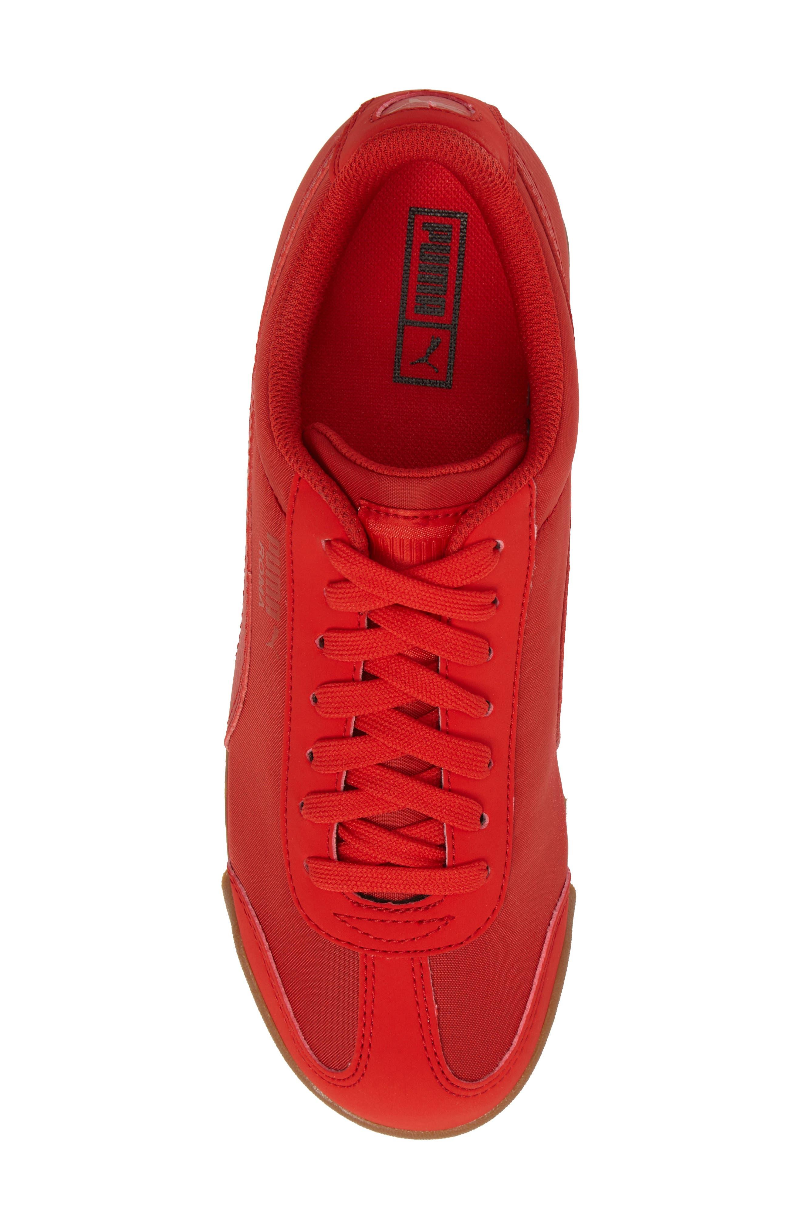 Roma Basic Summer Sneaker,                             Alternate thumbnail 5, color,                             High Risk Red