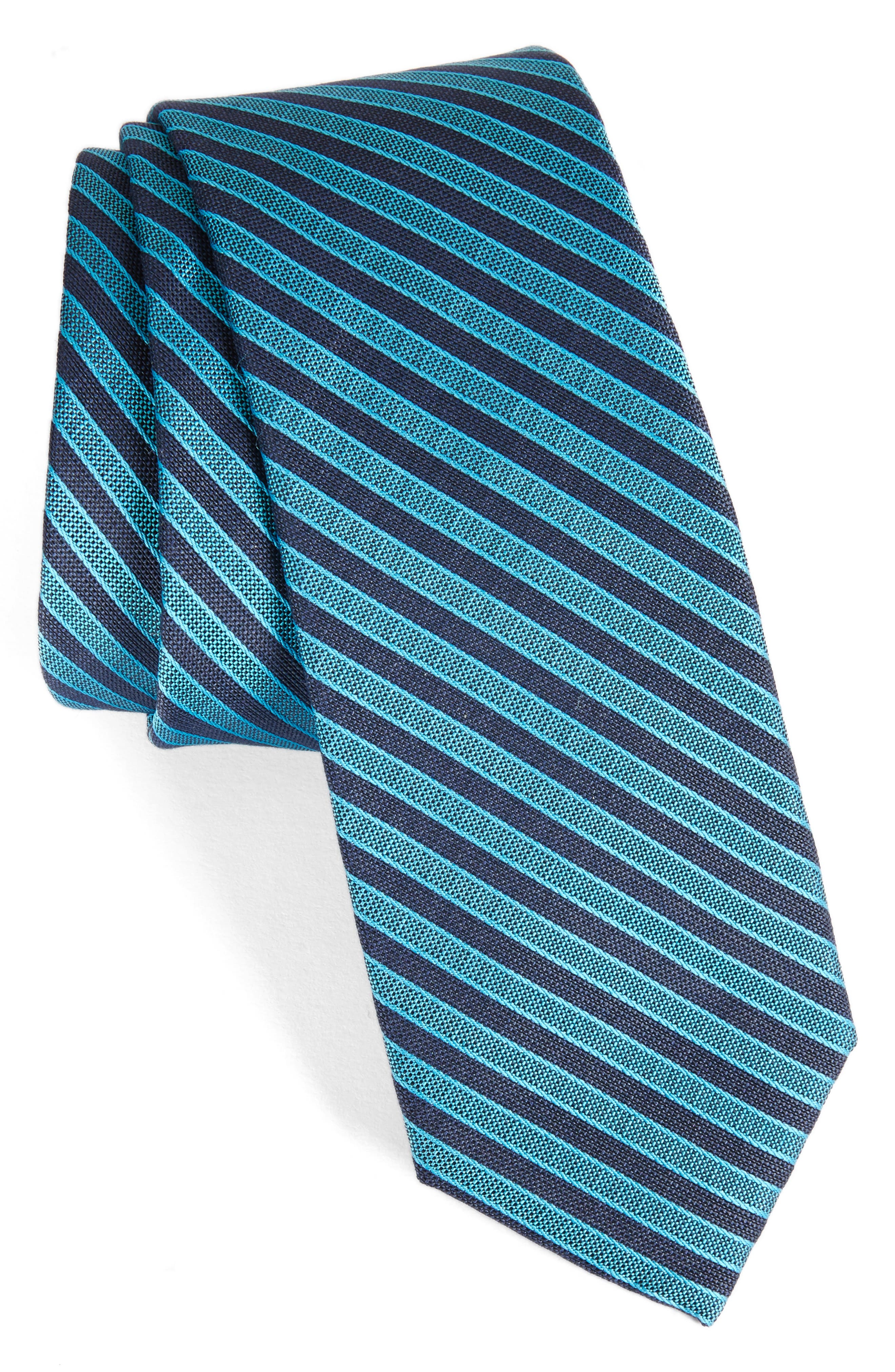 Calibrate Pop Up Stripe Tie