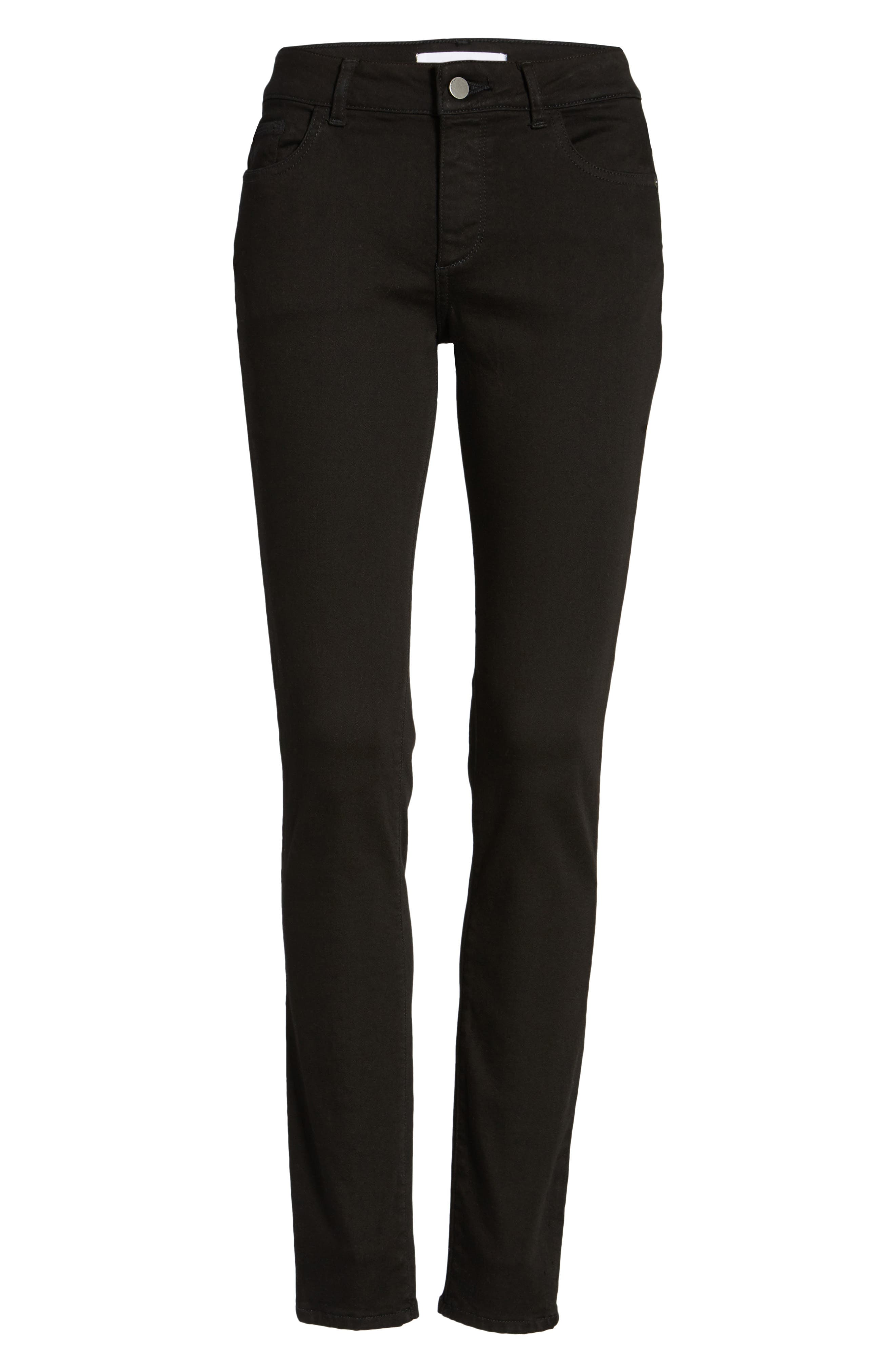 Florence Instasculpt Skinny Jeans,                             Alternate thumbnail 7, color,                             Hail
