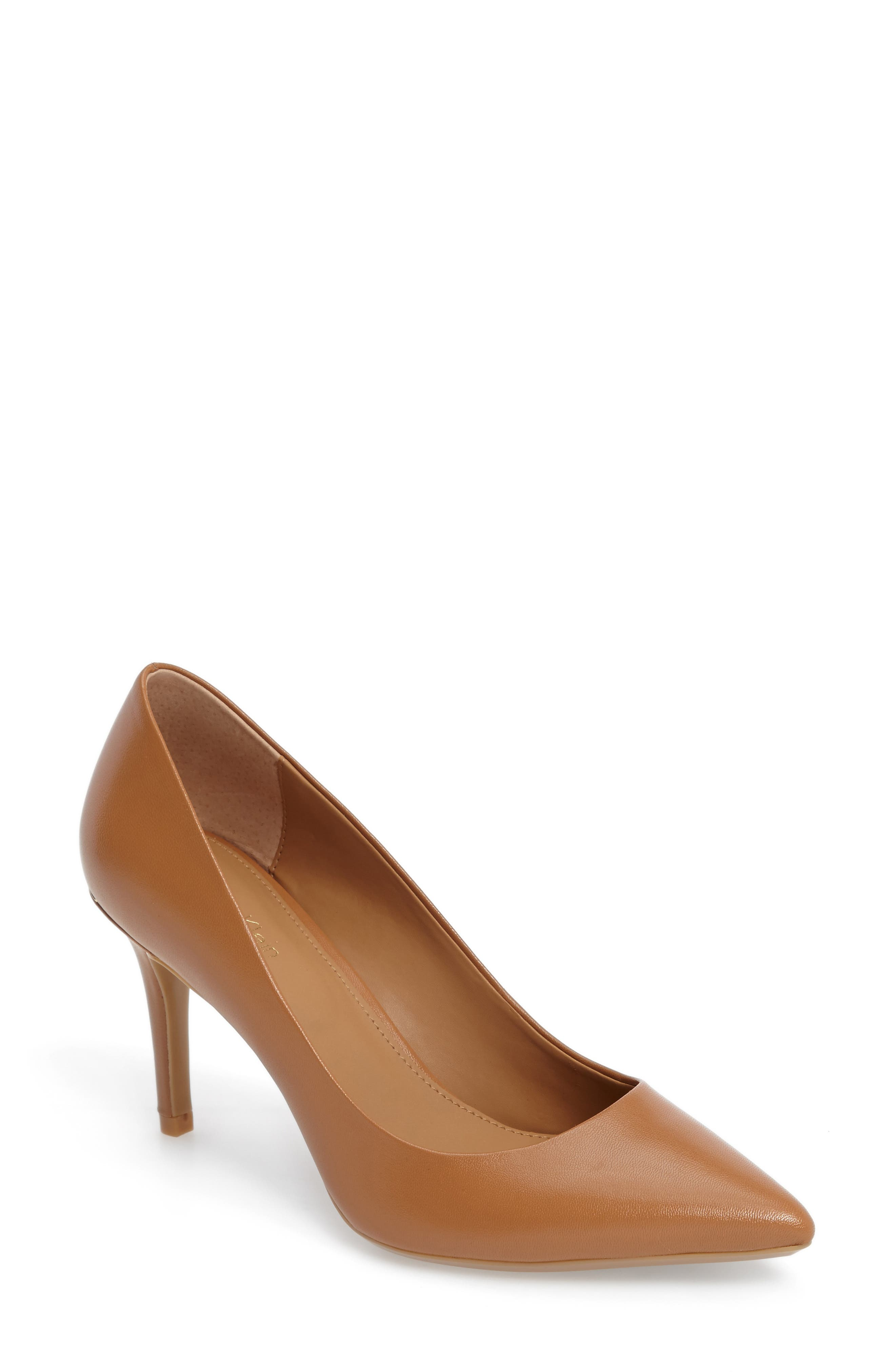 Alternate Image 1 Selected - Calvin Klein 'Gayle' Pointy Toe Pump (Women)