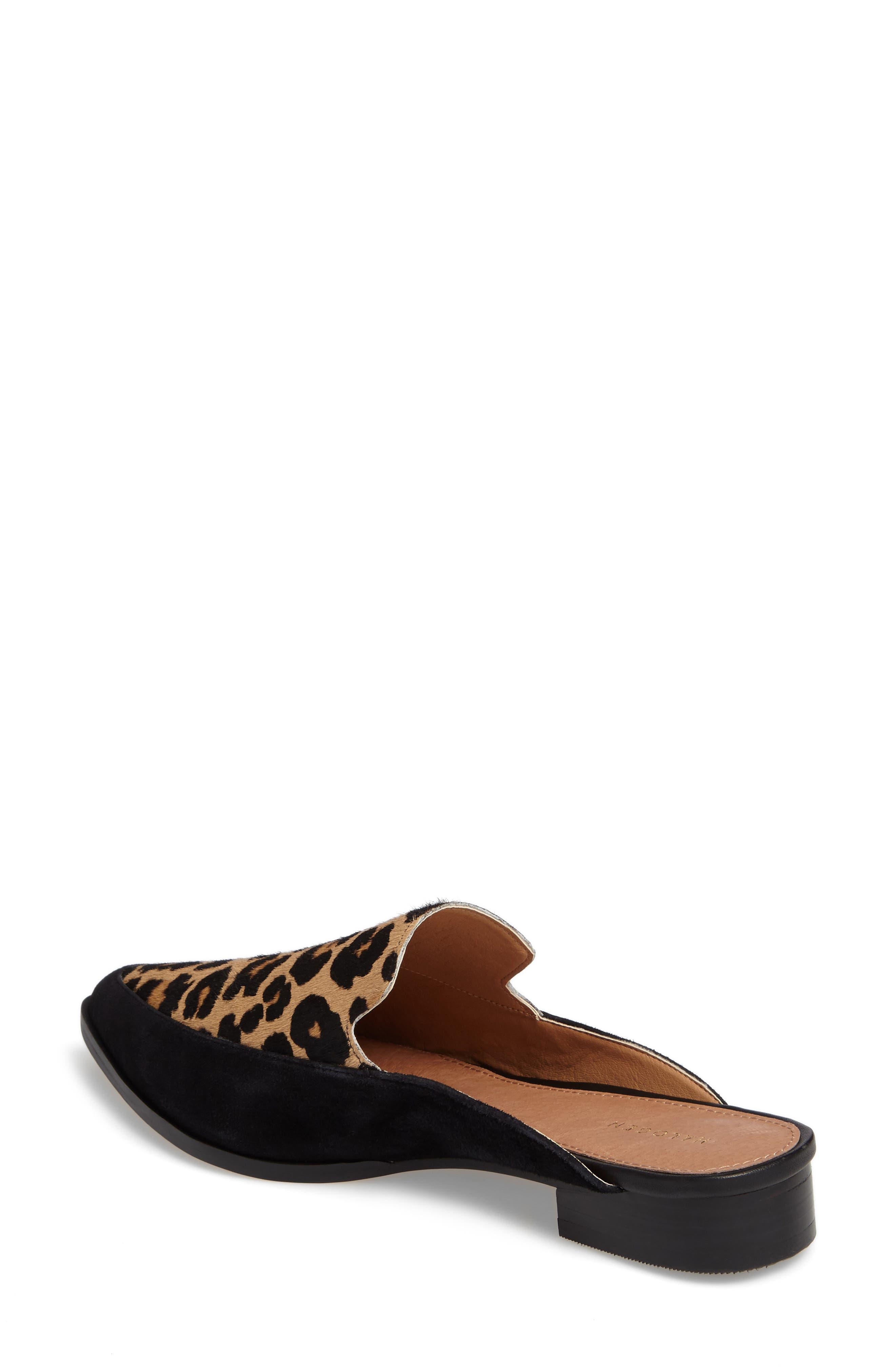 Alternate Image 2  - Halogen® Corbin Genuine Calf Hair Slide Loafer (Women)