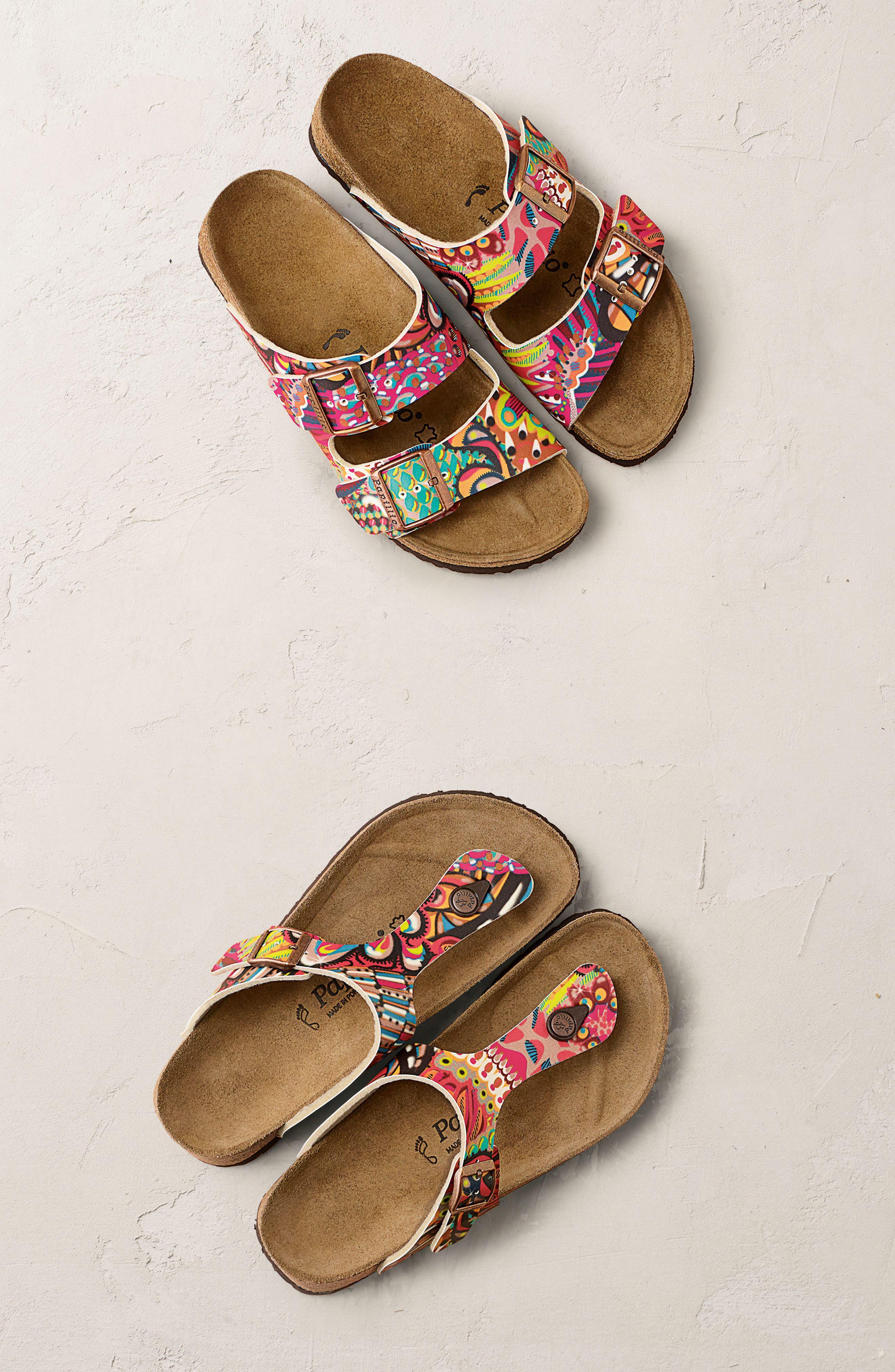 'Gizeh' Sandal,                             Alternate thumbnail 8, color,