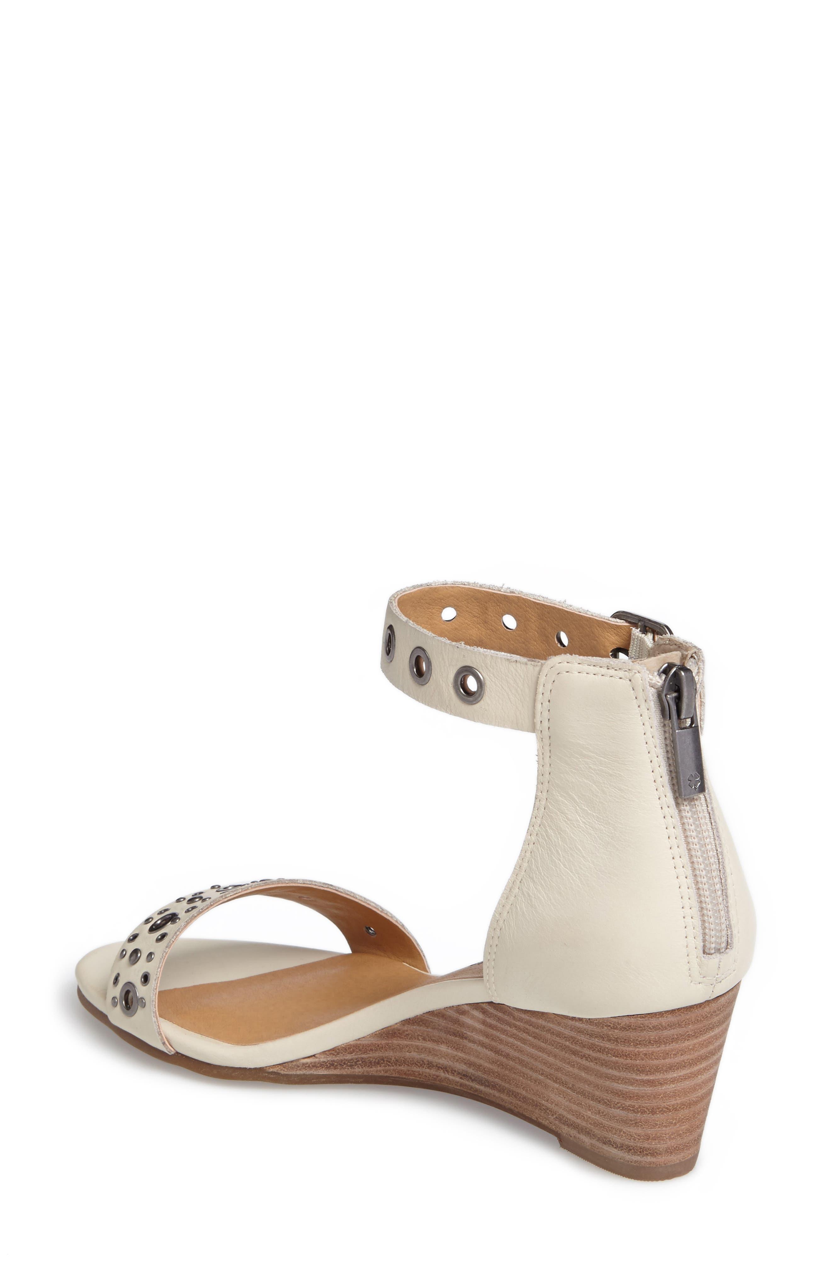 Alternate Image 2  - Lucky Brand Jorey Ankle Strap Wedge Sandal (Women)