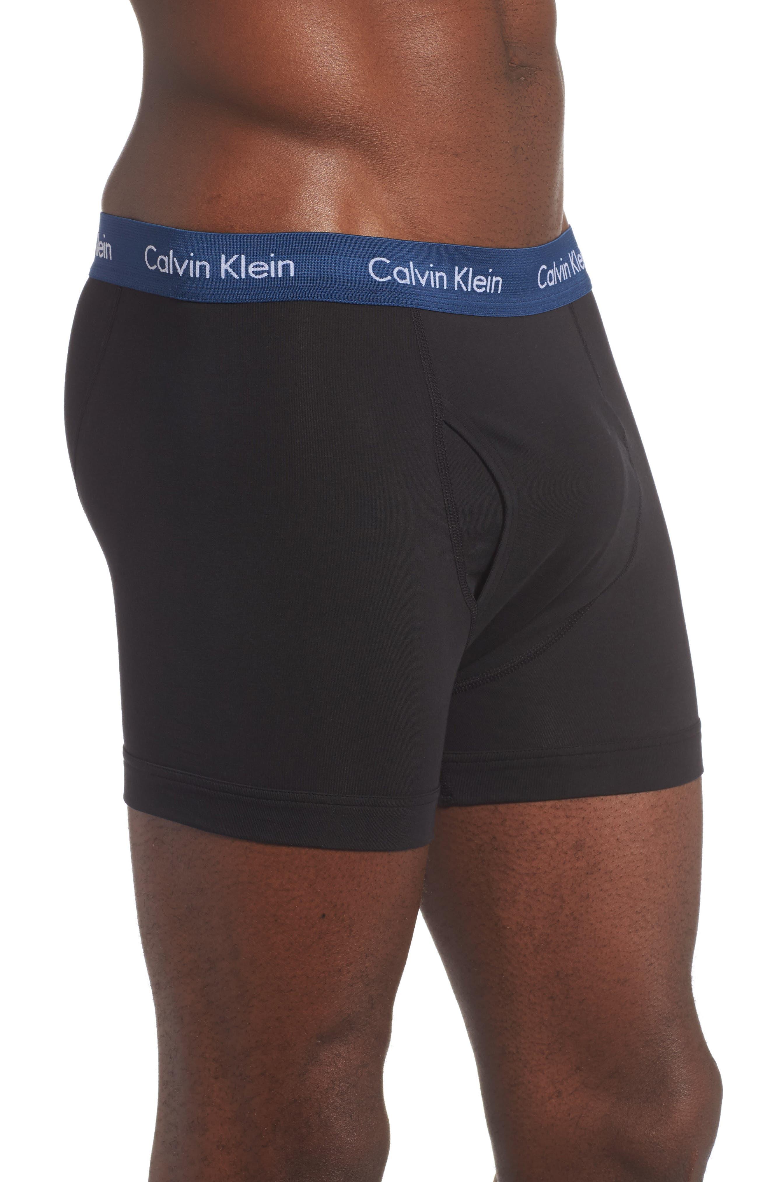 Alternate Image 4  - Calvin Klein 3-Pack Trunks