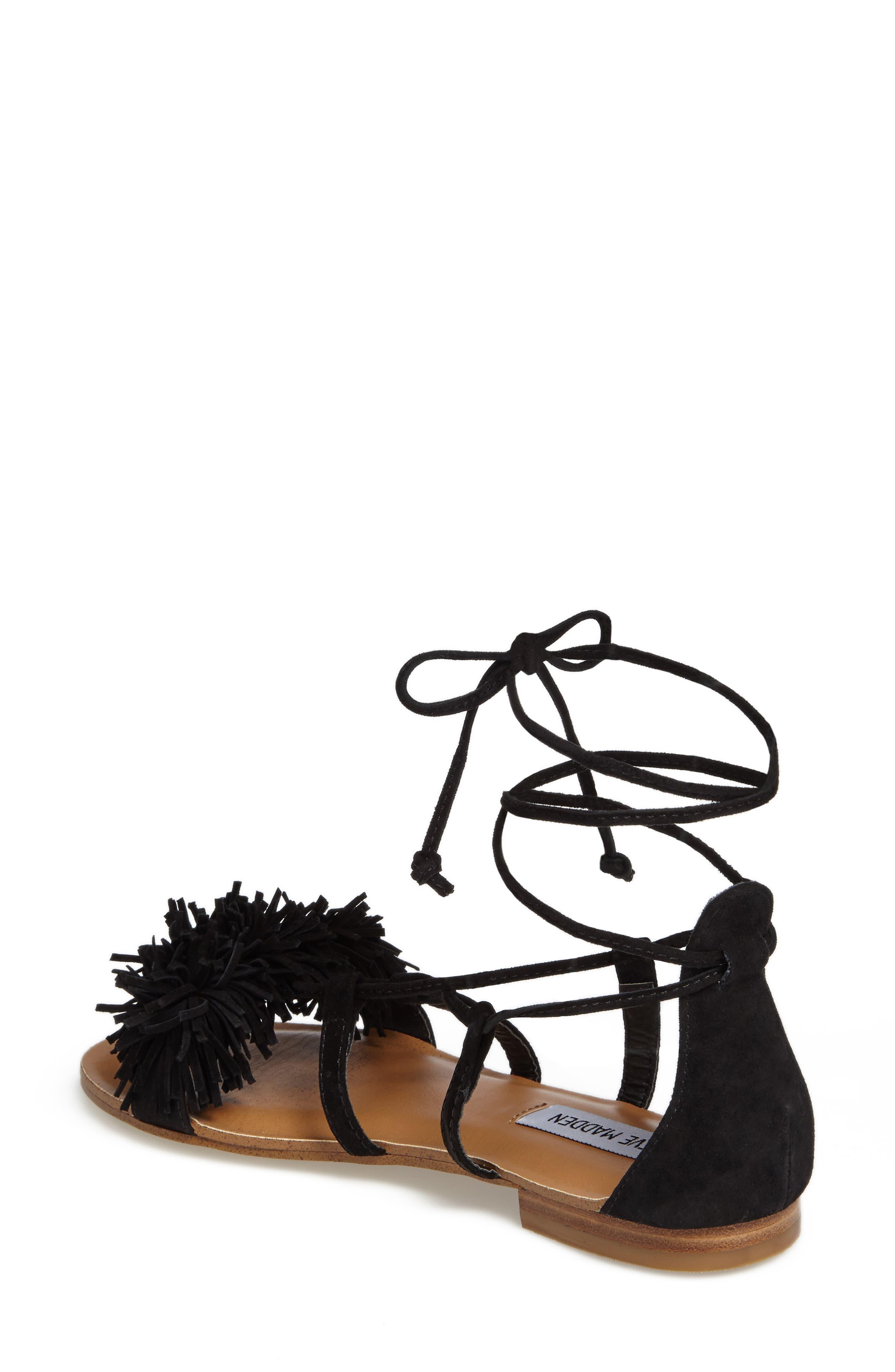 Alternate Image 2  - Steve Madden Swizzle Lace-Up Sandal (Women)