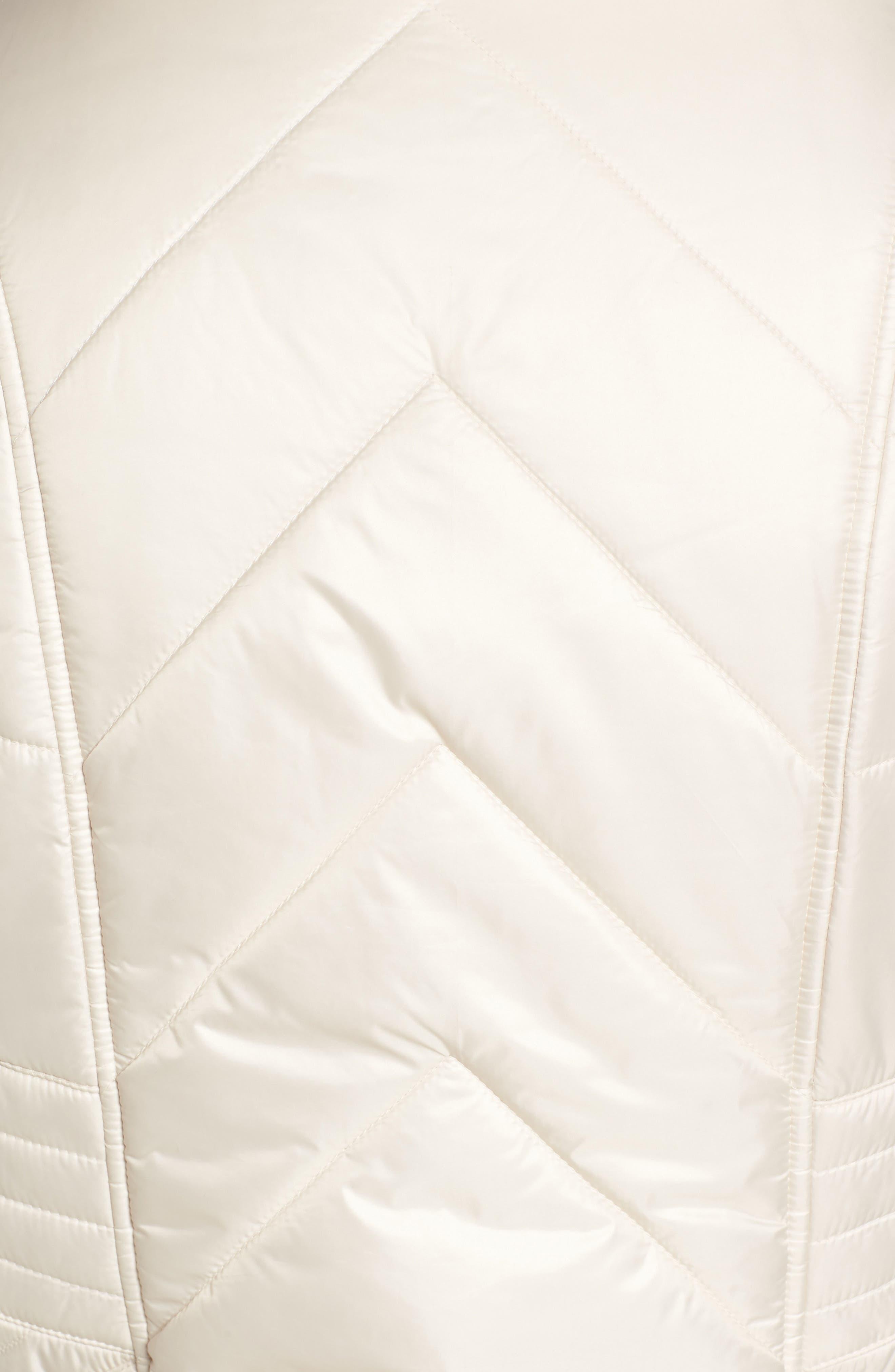 Alternate Image 5  - Gallery Reversible Faux Fur Vest