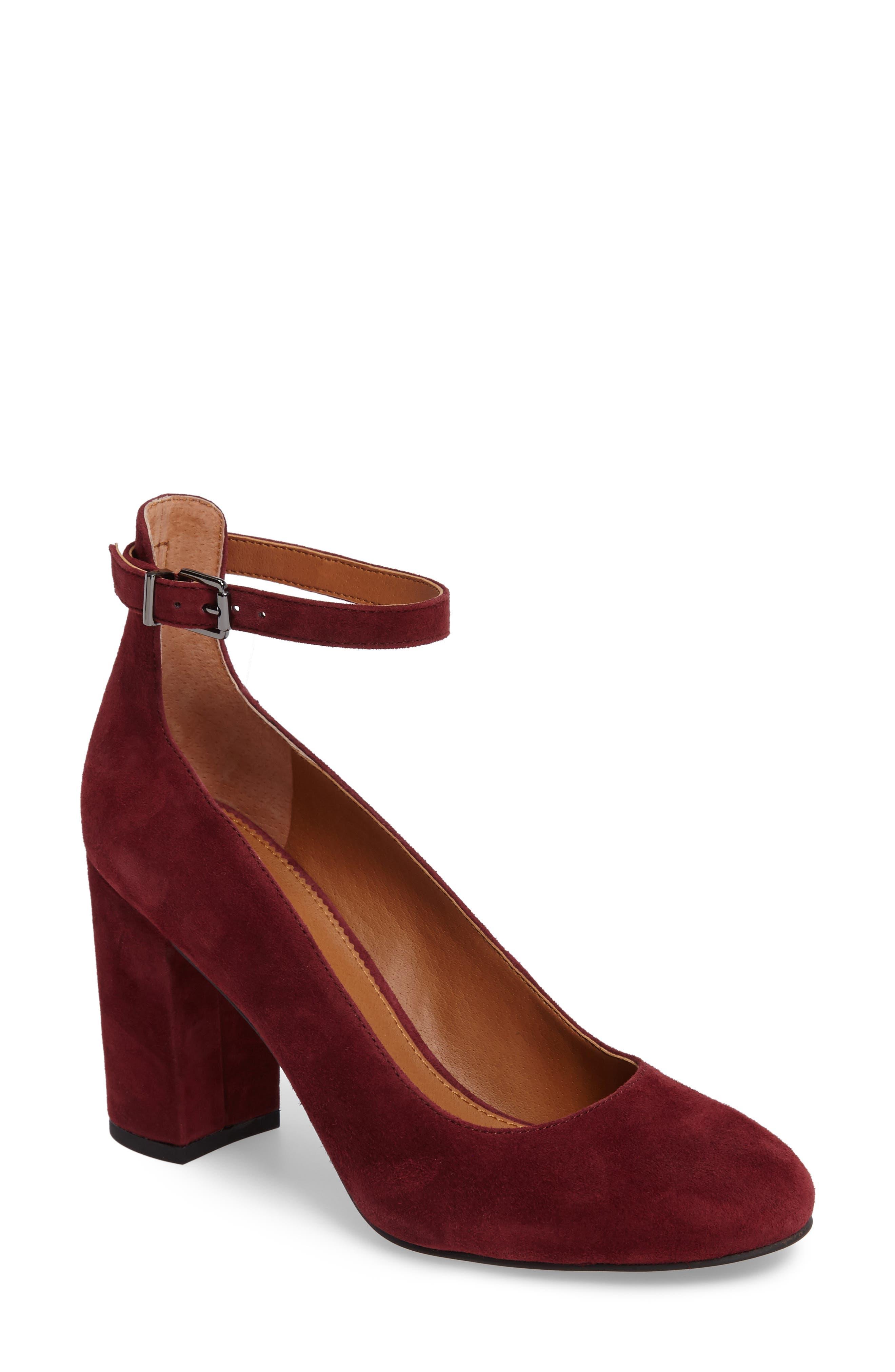 SARTO by Franco Sarto Abbington Ankle Strap Pump (Women)