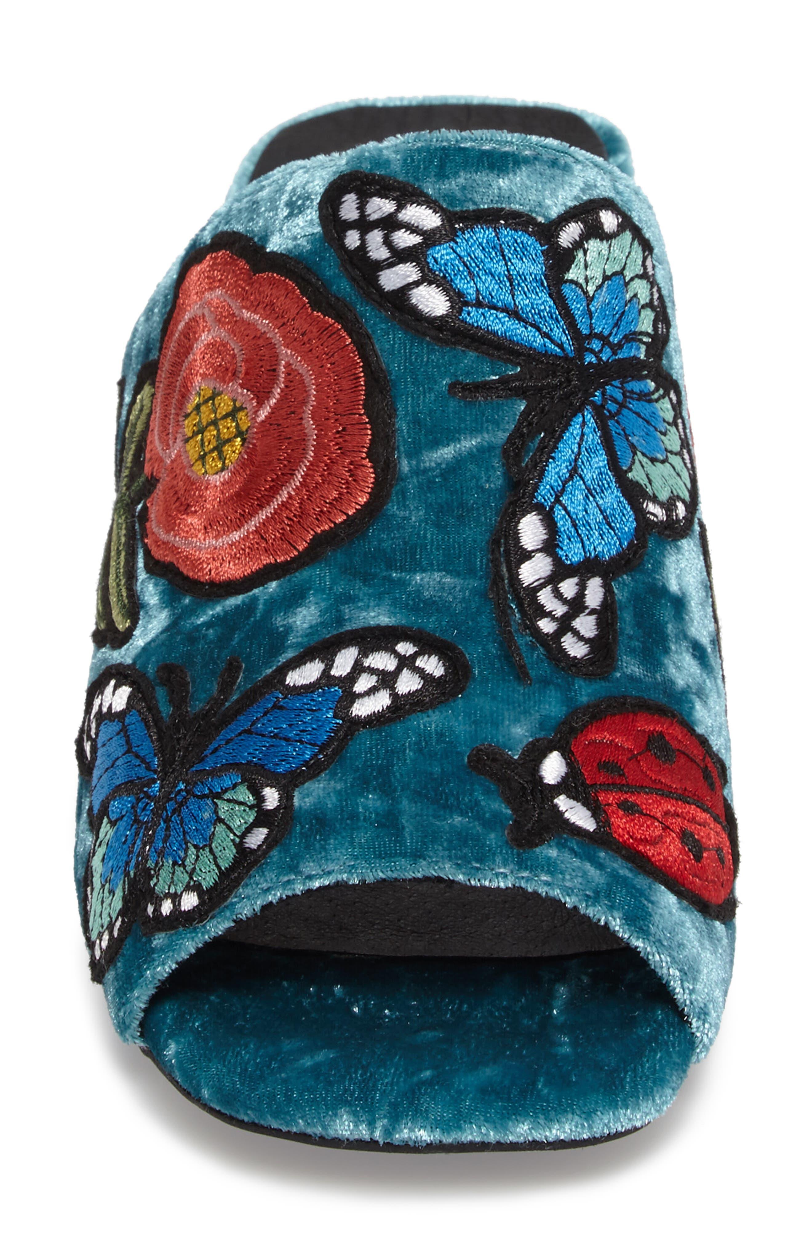 Alternate Image 4  - Jeffrey Campbell Perpetua Butterfly Open Toe Mule (Women)
