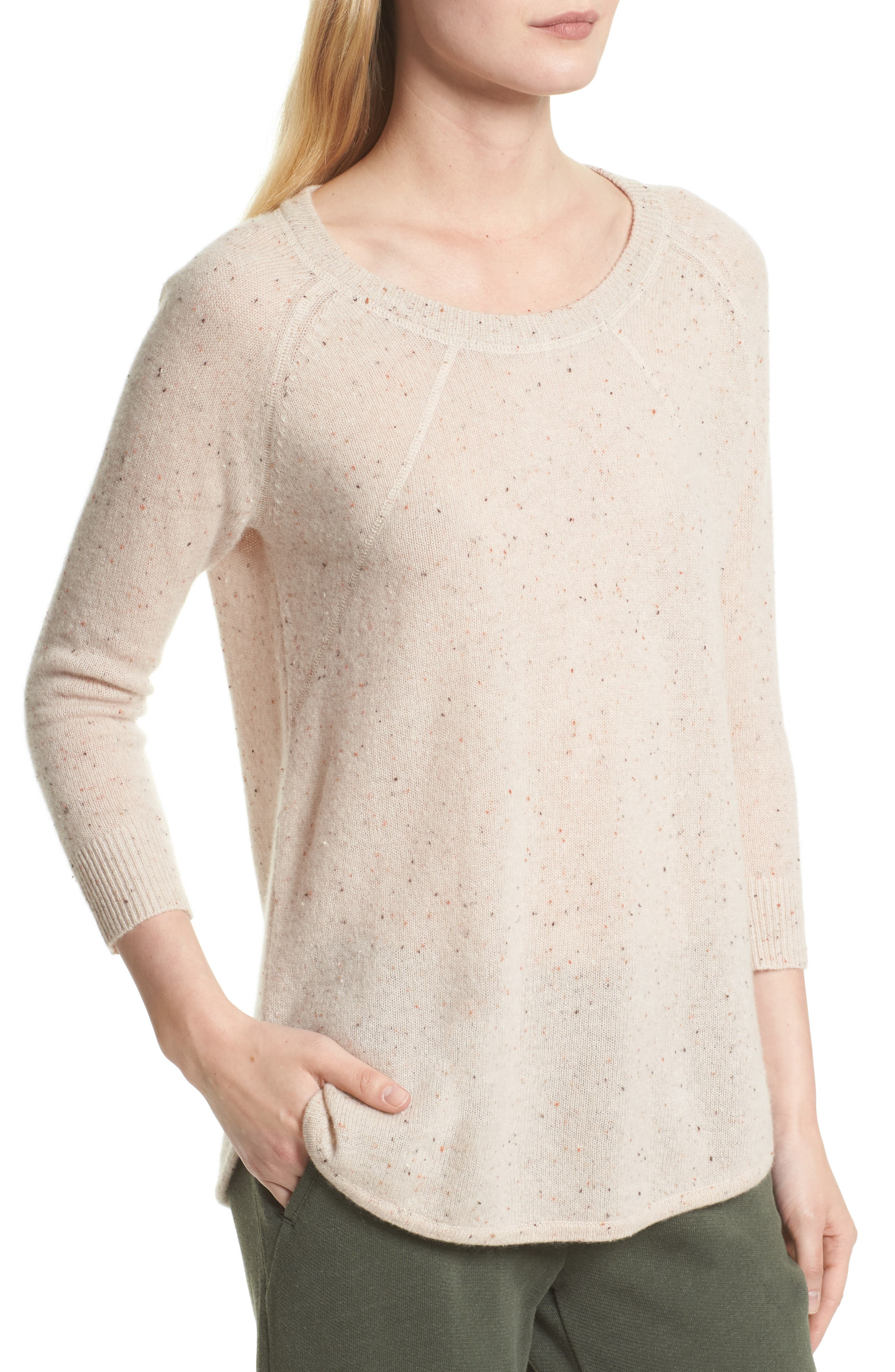 Alternate Image 4  - ATM Anthony Thomas Melillo Cashmere Sweater (Nordstrom Exclusive)