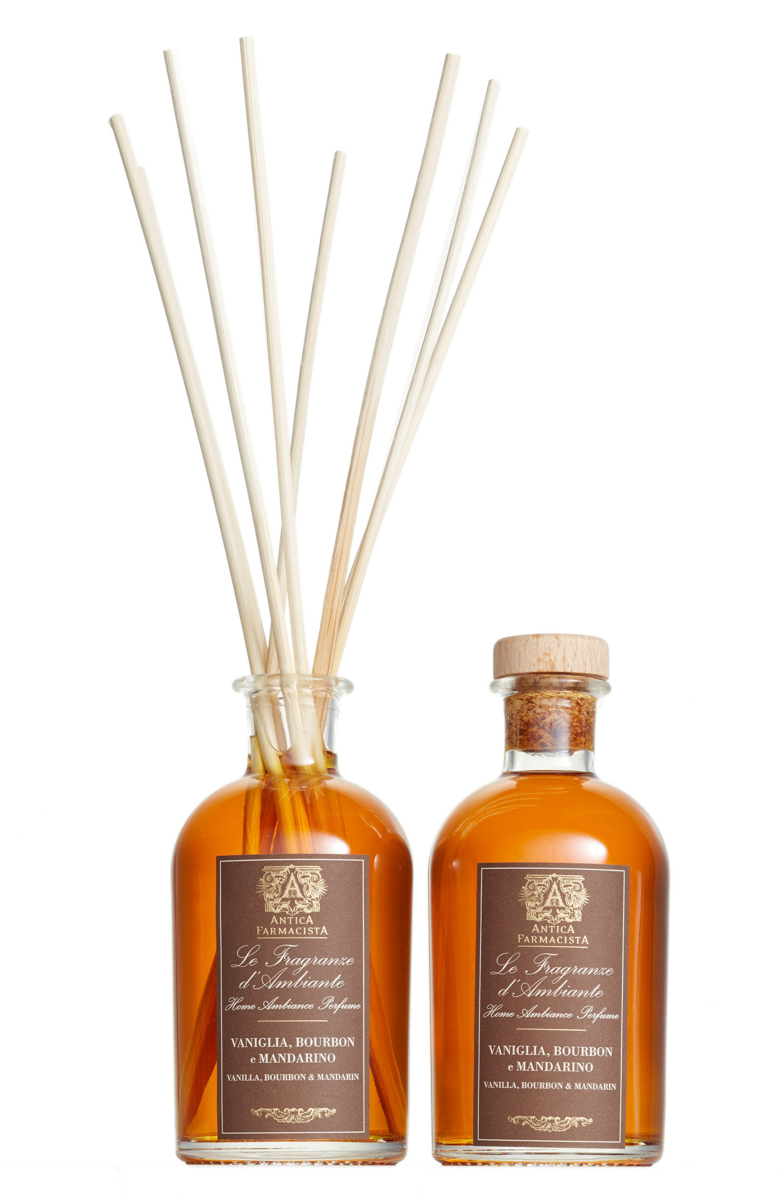 Antica Farmacista Vanilla, Bourbon & Mandarin Diffuser Duo ($132 Value)