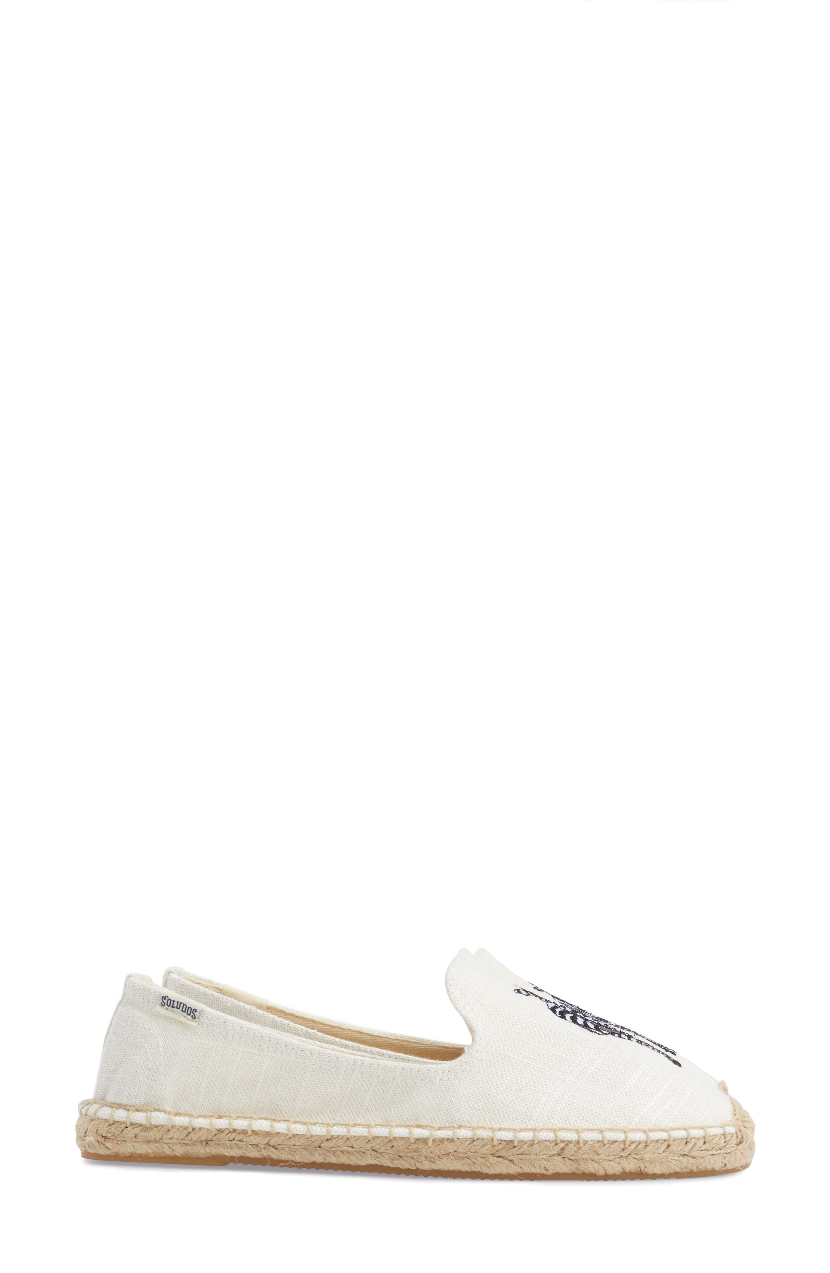 Alternate Image 4  - Soludos Embroidered Espadrille Slip-On (Women)