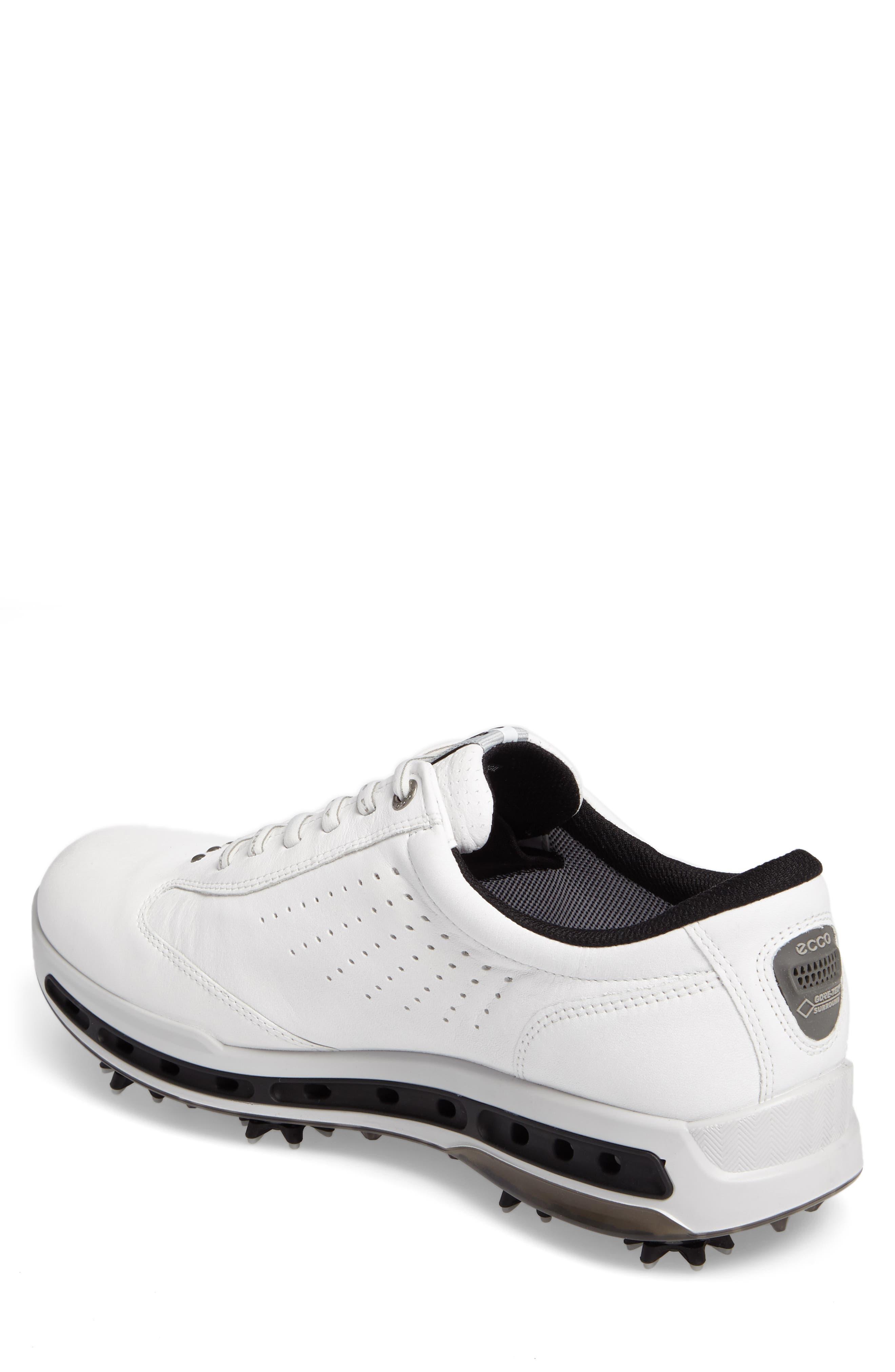 Cool GTX Golf Shoe,                             Alternate thumbnail 2, color,                             White/ Black