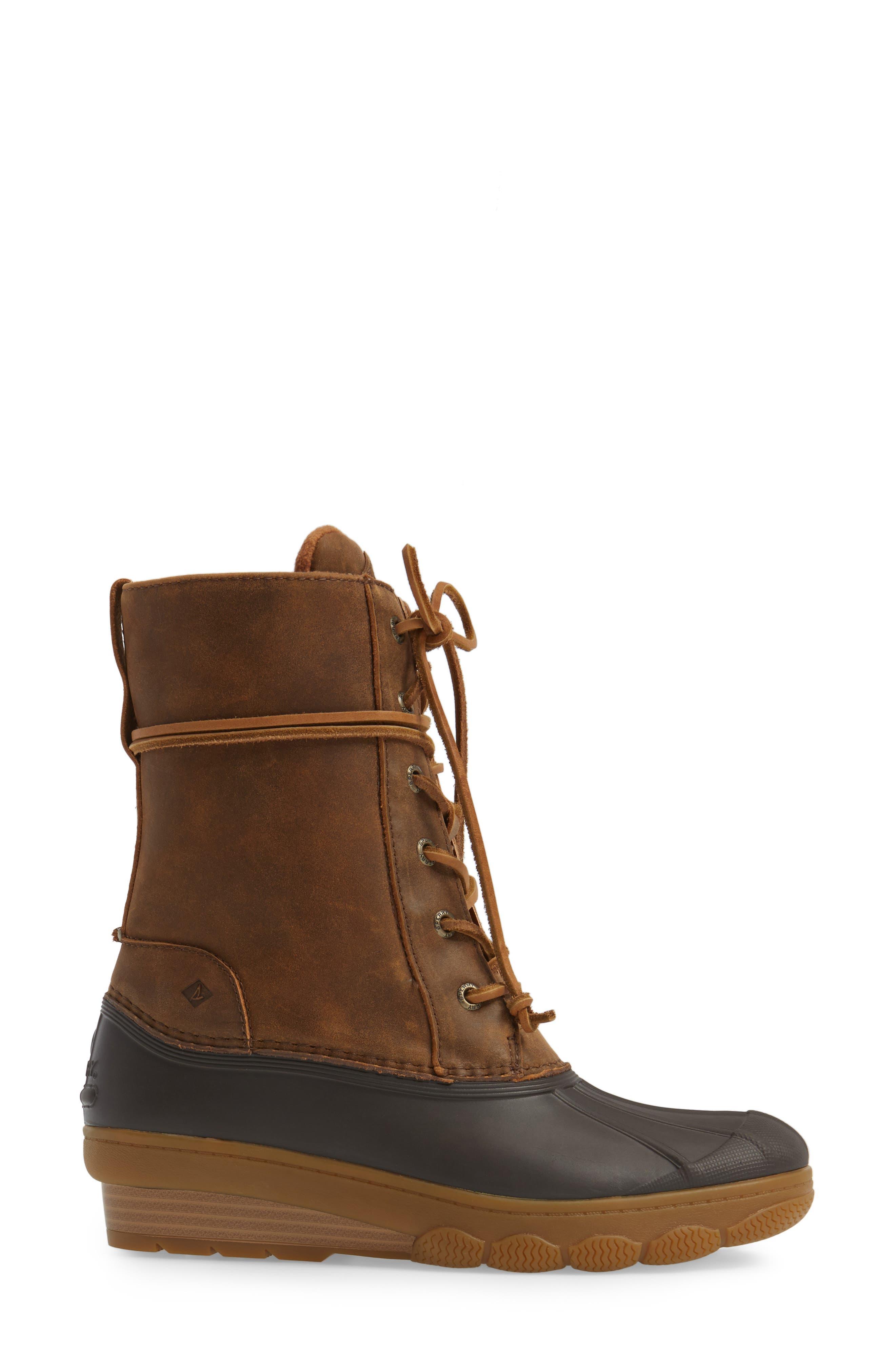 Alternate Image 3  - Sperry Saltwater Wedge Reeve Waterproof Boot (Women)
