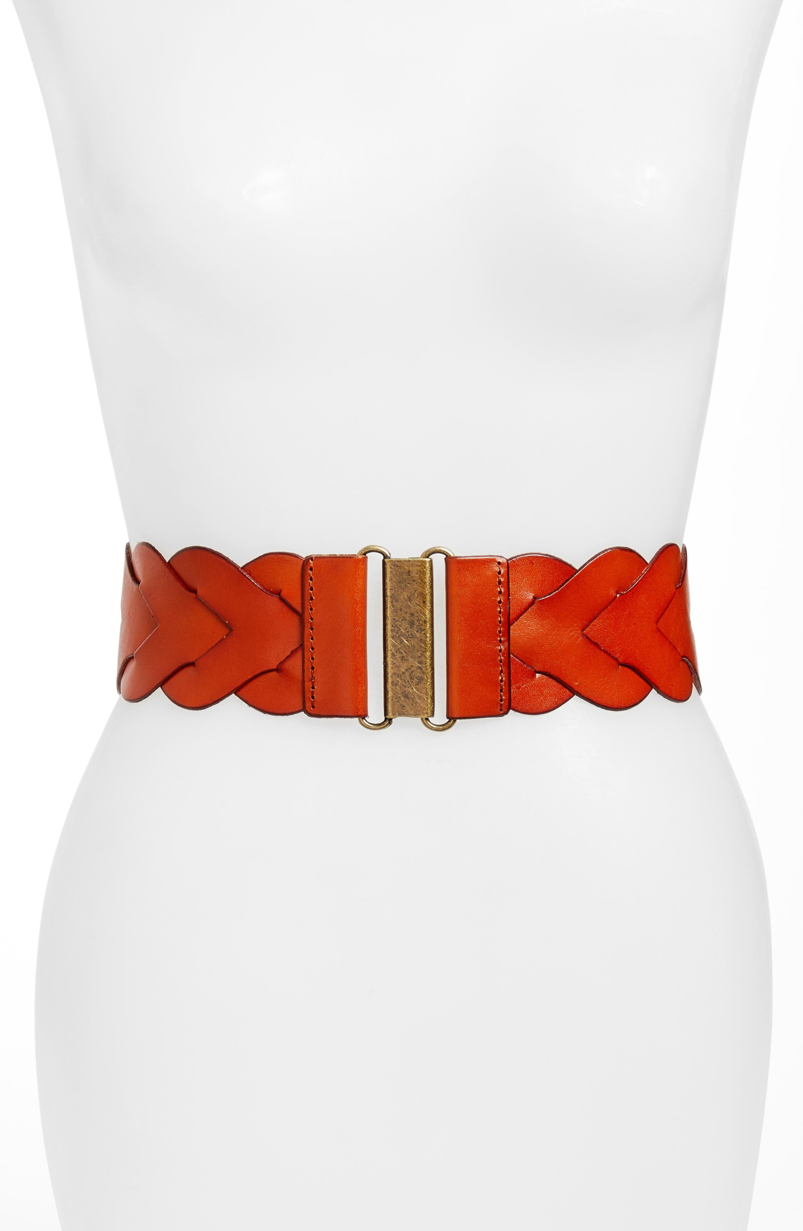 Main Image - Elise M. Skylar Stretch Belt