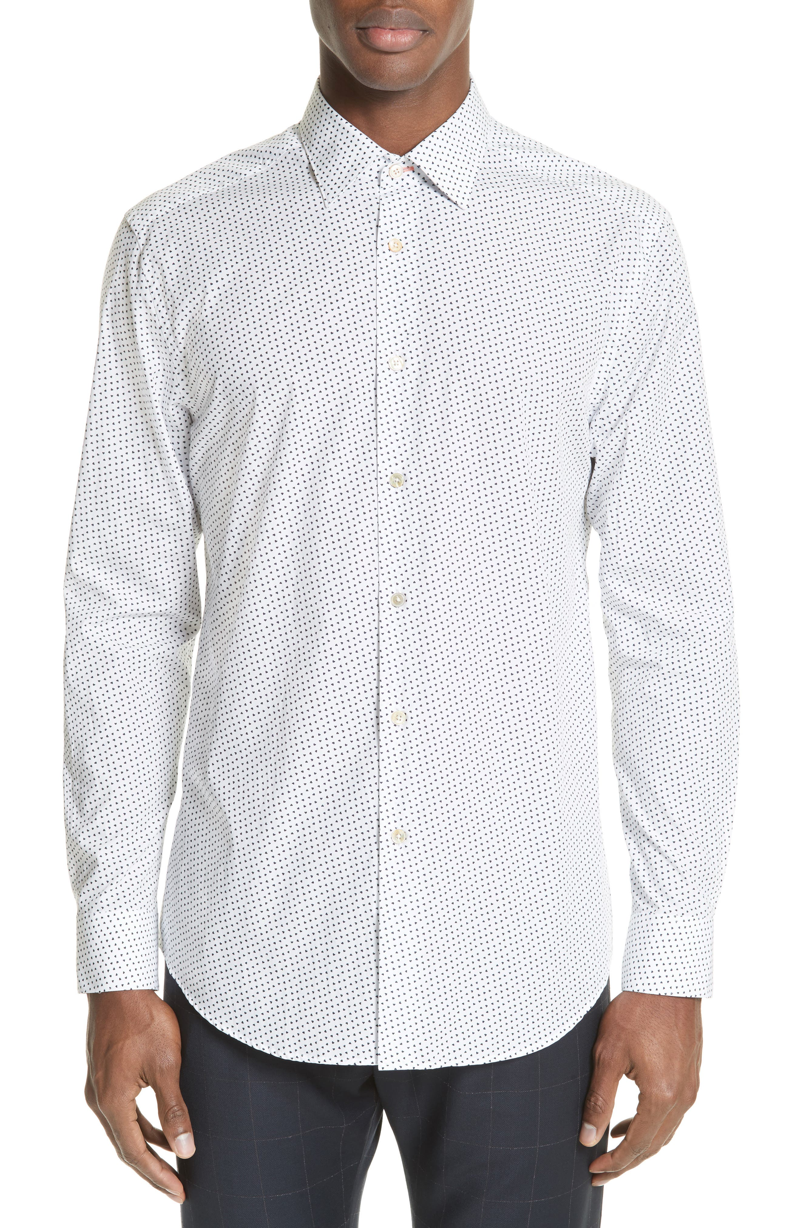 Paul Smith Heart Print Sport Shirt
