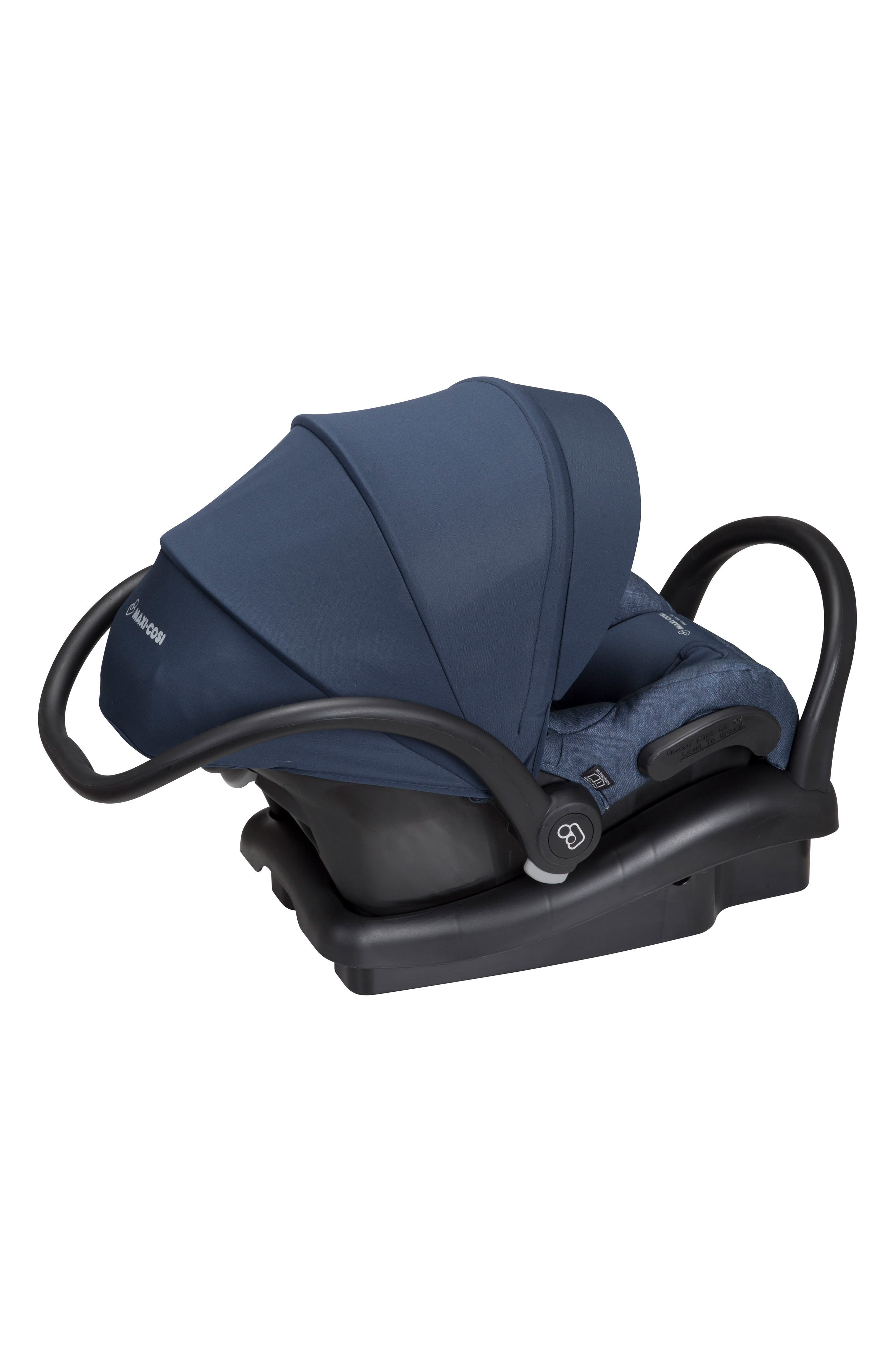 Mico Max 30 Nomad Collection Infant Car Seat,                             Alternate thumbnail 3, color,                             Nomad Blue