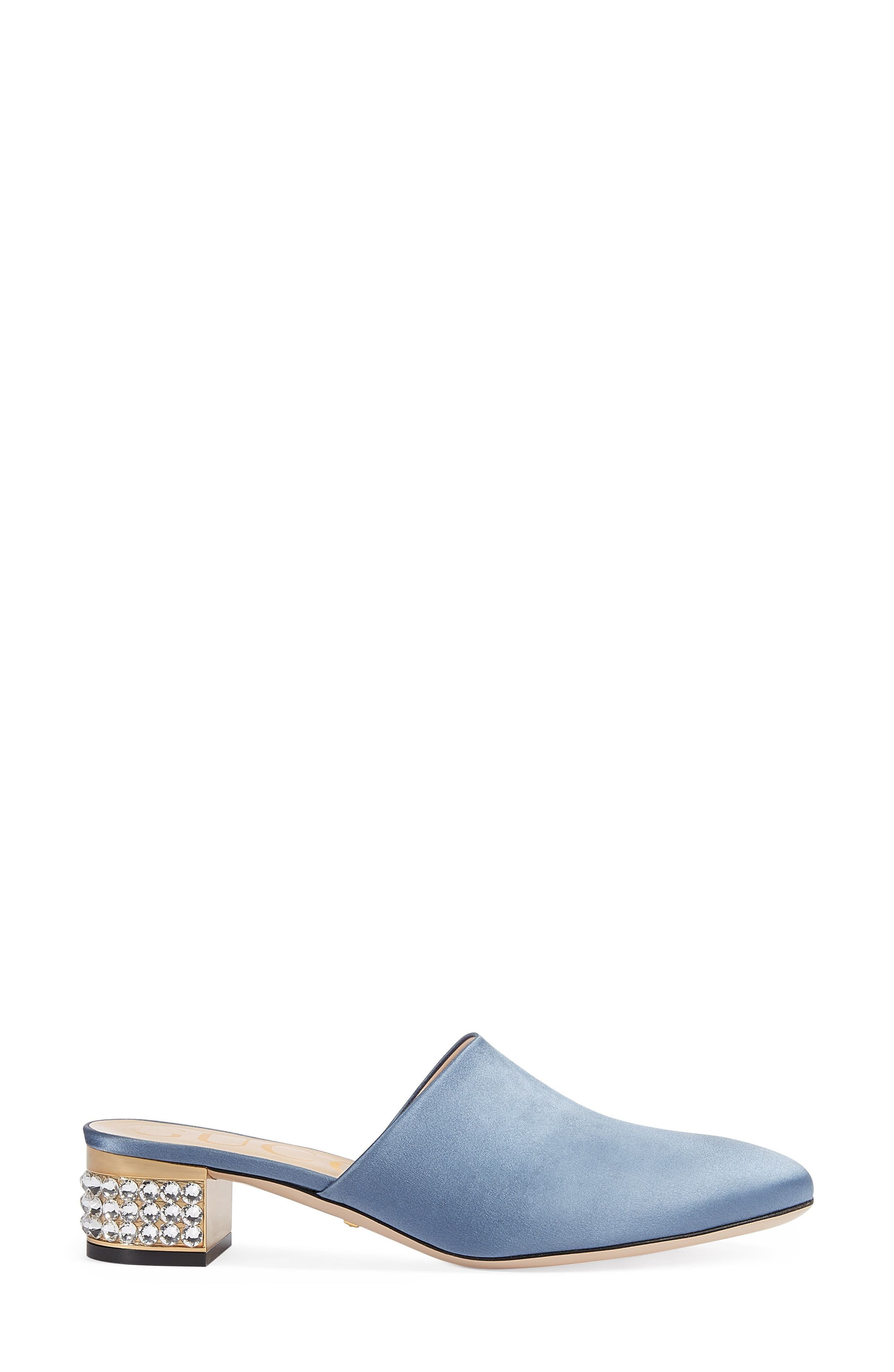 Alternate Image 2  - Gucci Candy Satin Mule (Women)