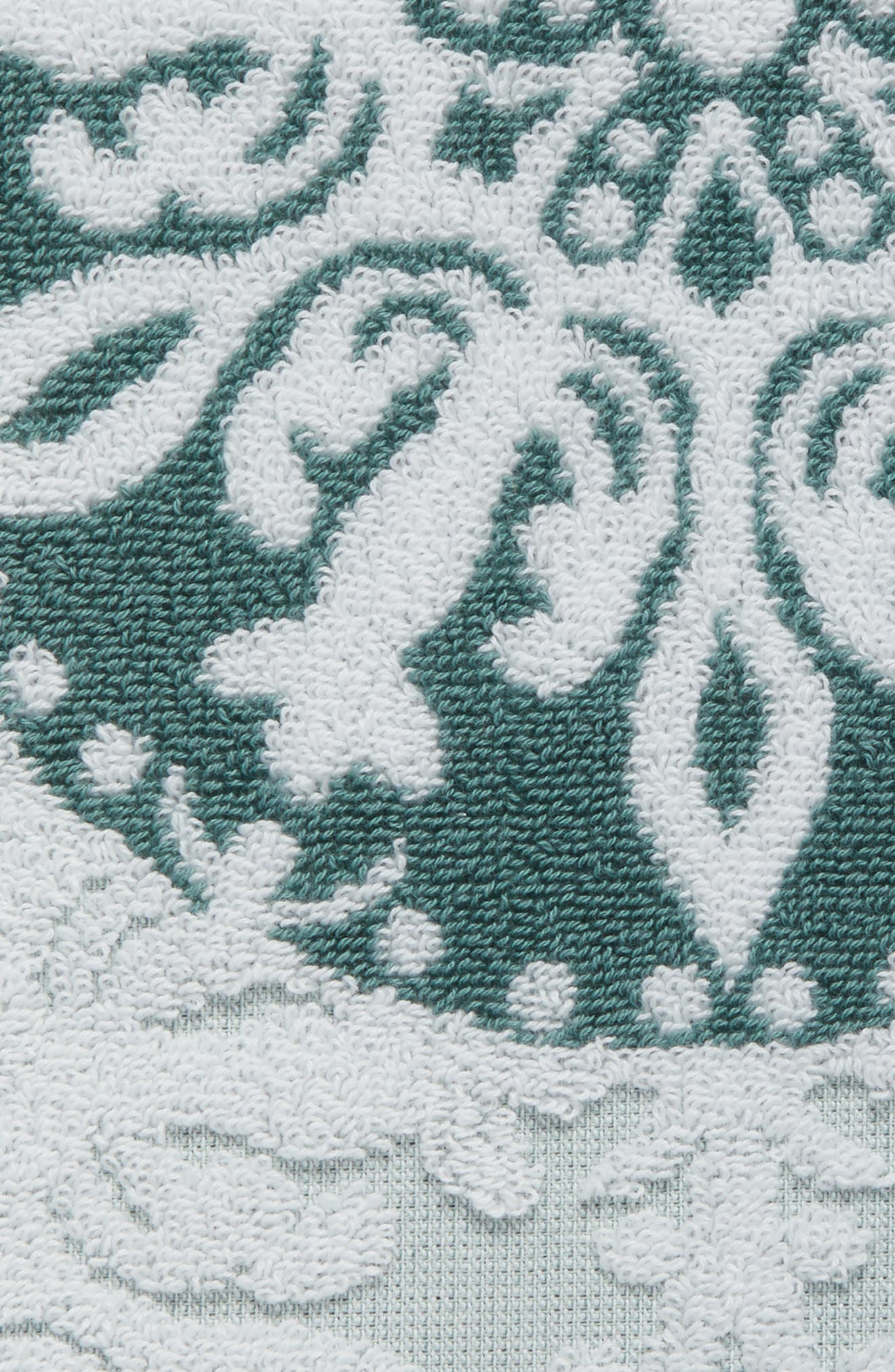 Alternate Image 2  - Nordstrom at Home Fan Ombré Jacquard Hand Towel