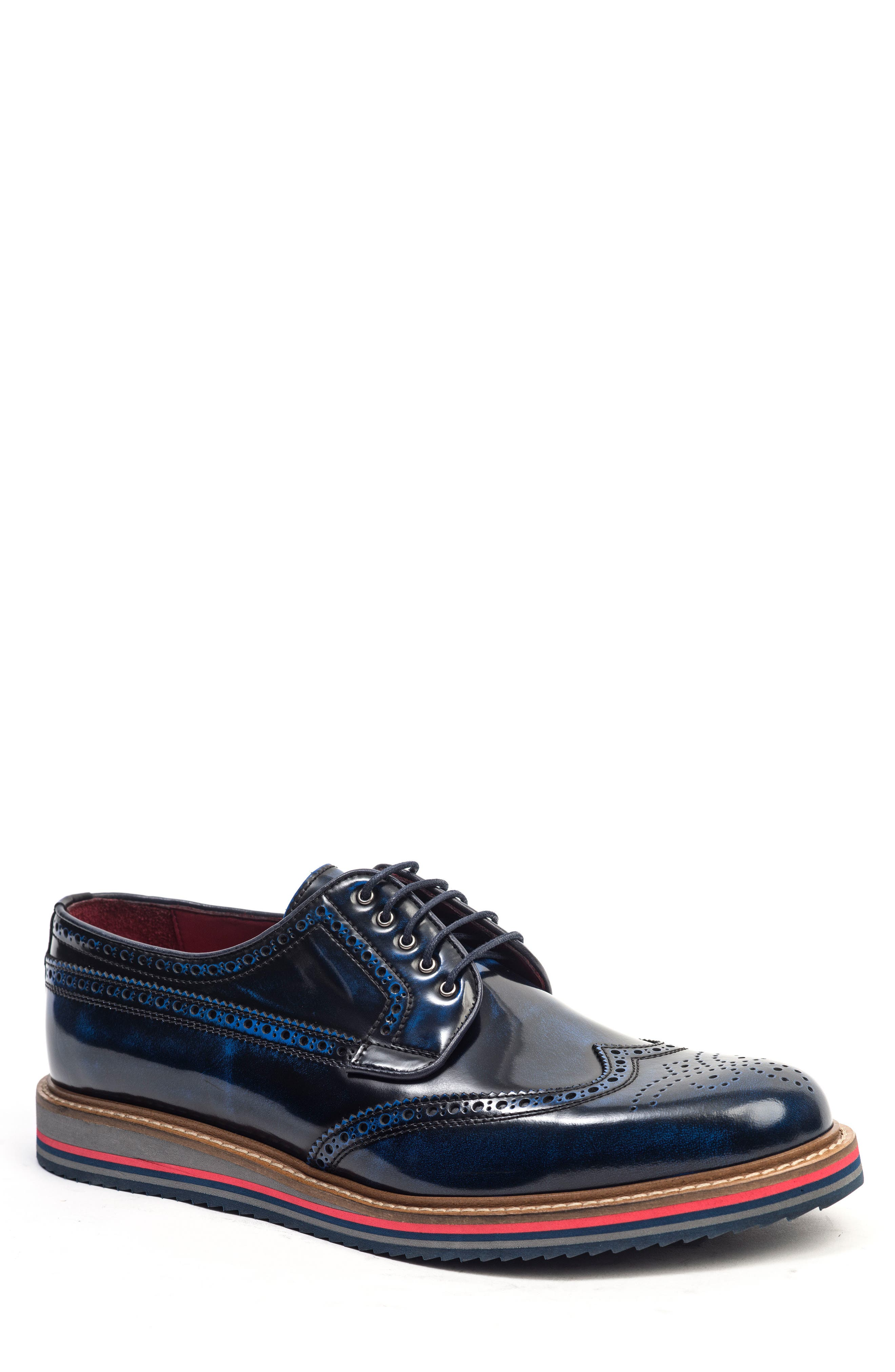 Main Image - Jared Lang Doc Sandwich Sole Wingtip Oxford (Men)