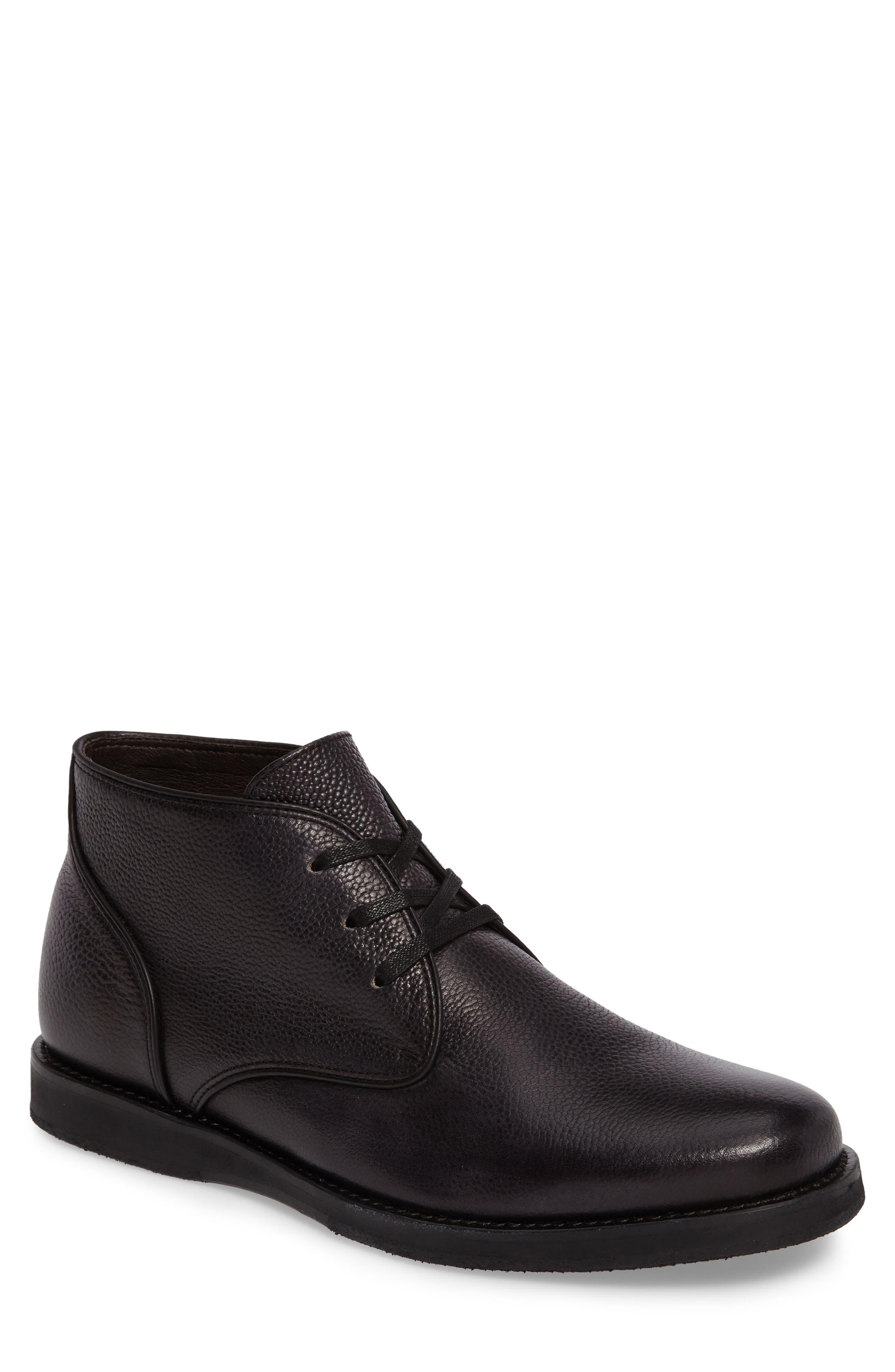 Brooklyn Chukka Boot,                         Main,                         color, Mineral Black