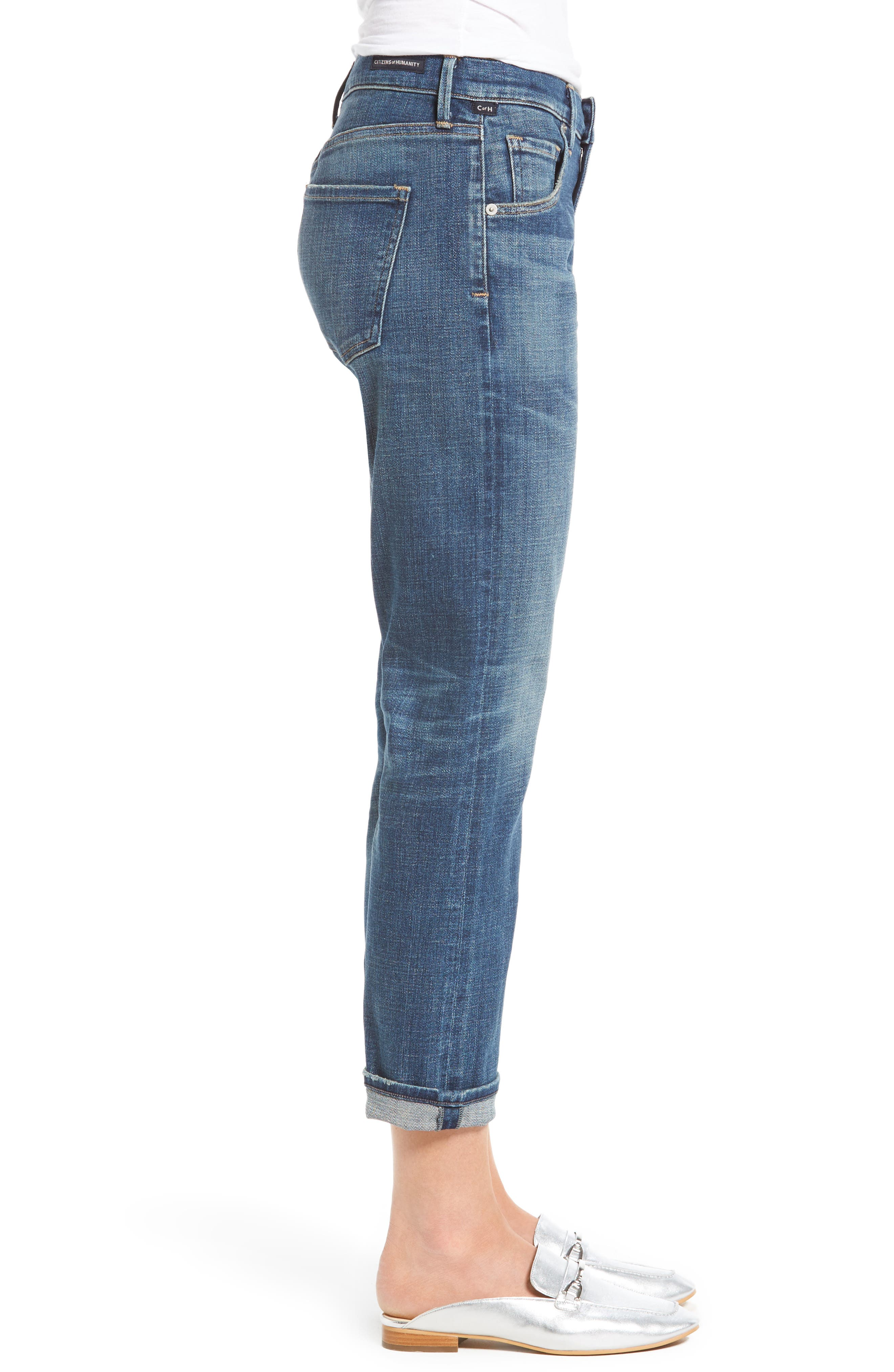 Alternate Image 3  - Citizens of Humanity Emerson Slim Boyfriend Jeans (Crusade)