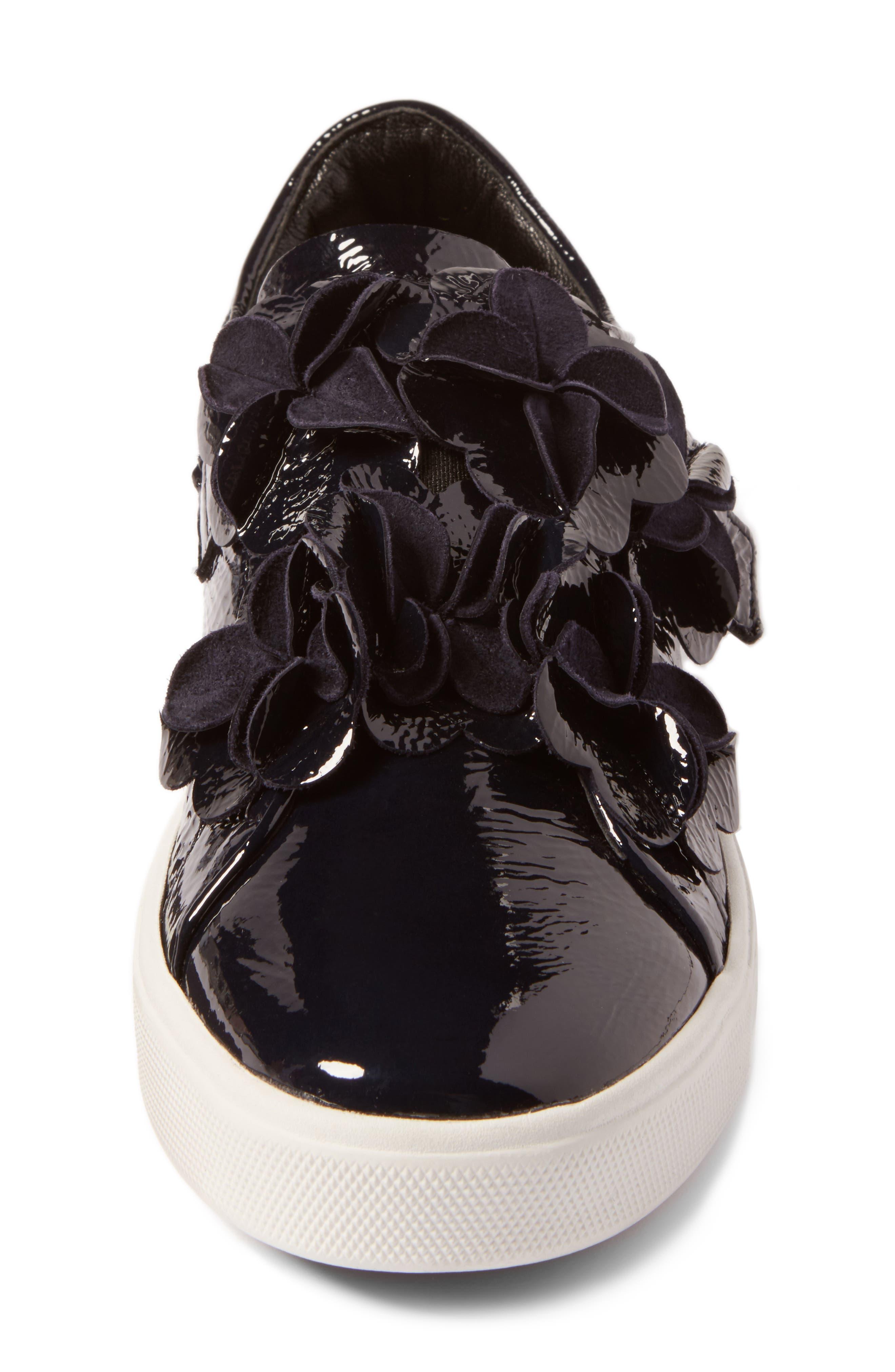 Alternate Image 4  - Kennel & Schmenger Town Floral Embellished Sneaker (Women)