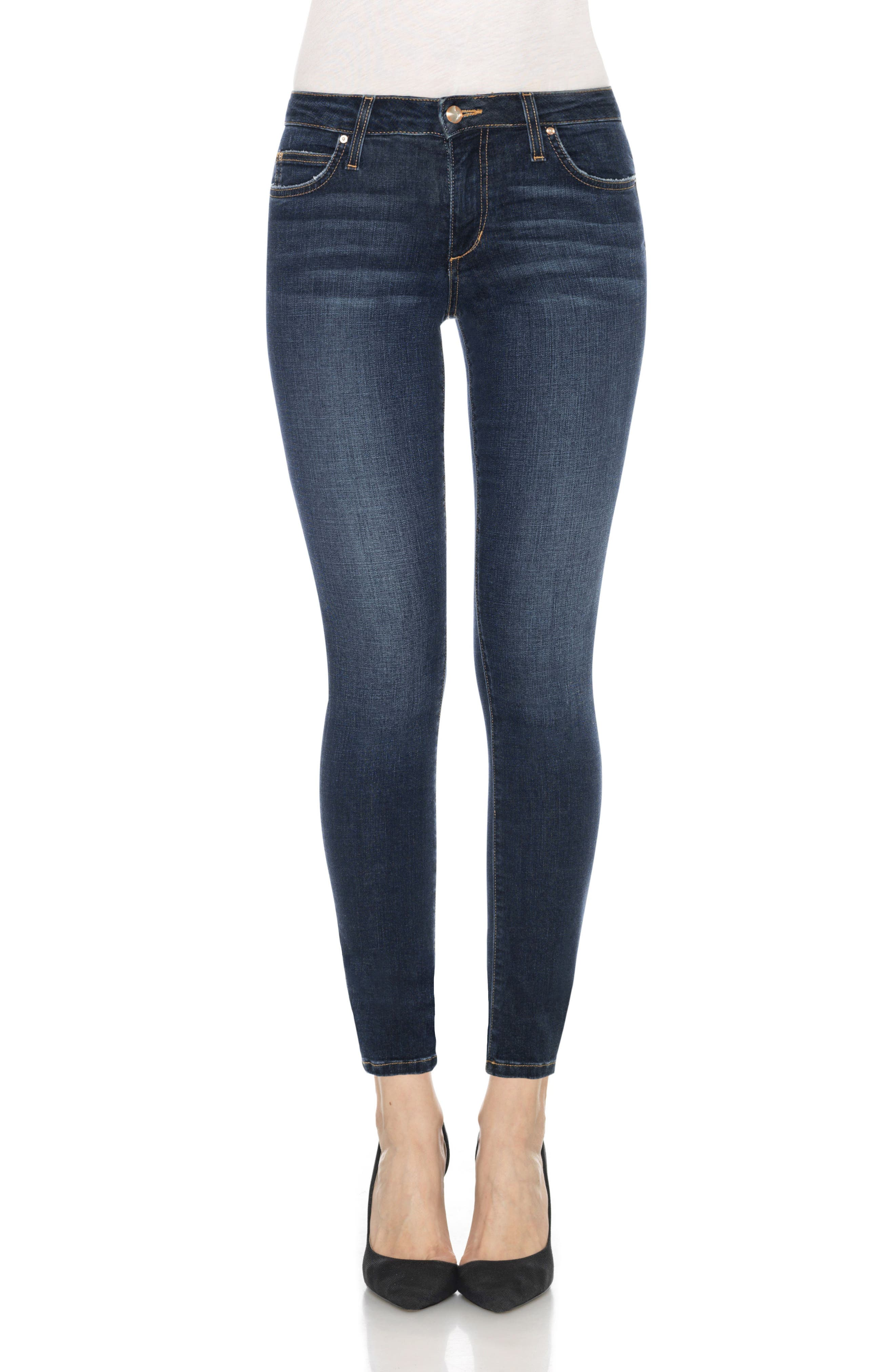 Flawless - Icon Ankle Skinny Jeans,                             Main thumbnail 1, color,                             Tania