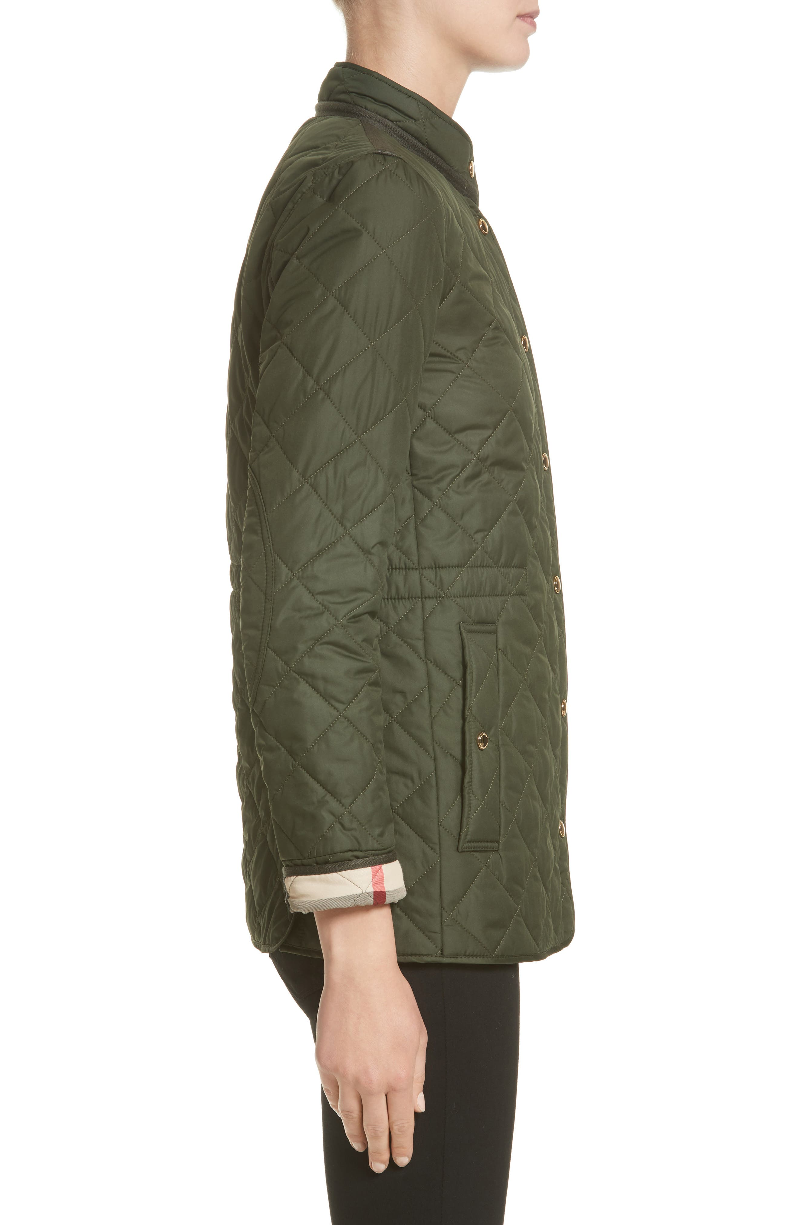 Alternate Image 5  - Burberry Pensham Quilted Jacket (Nordstrom Exclusive)