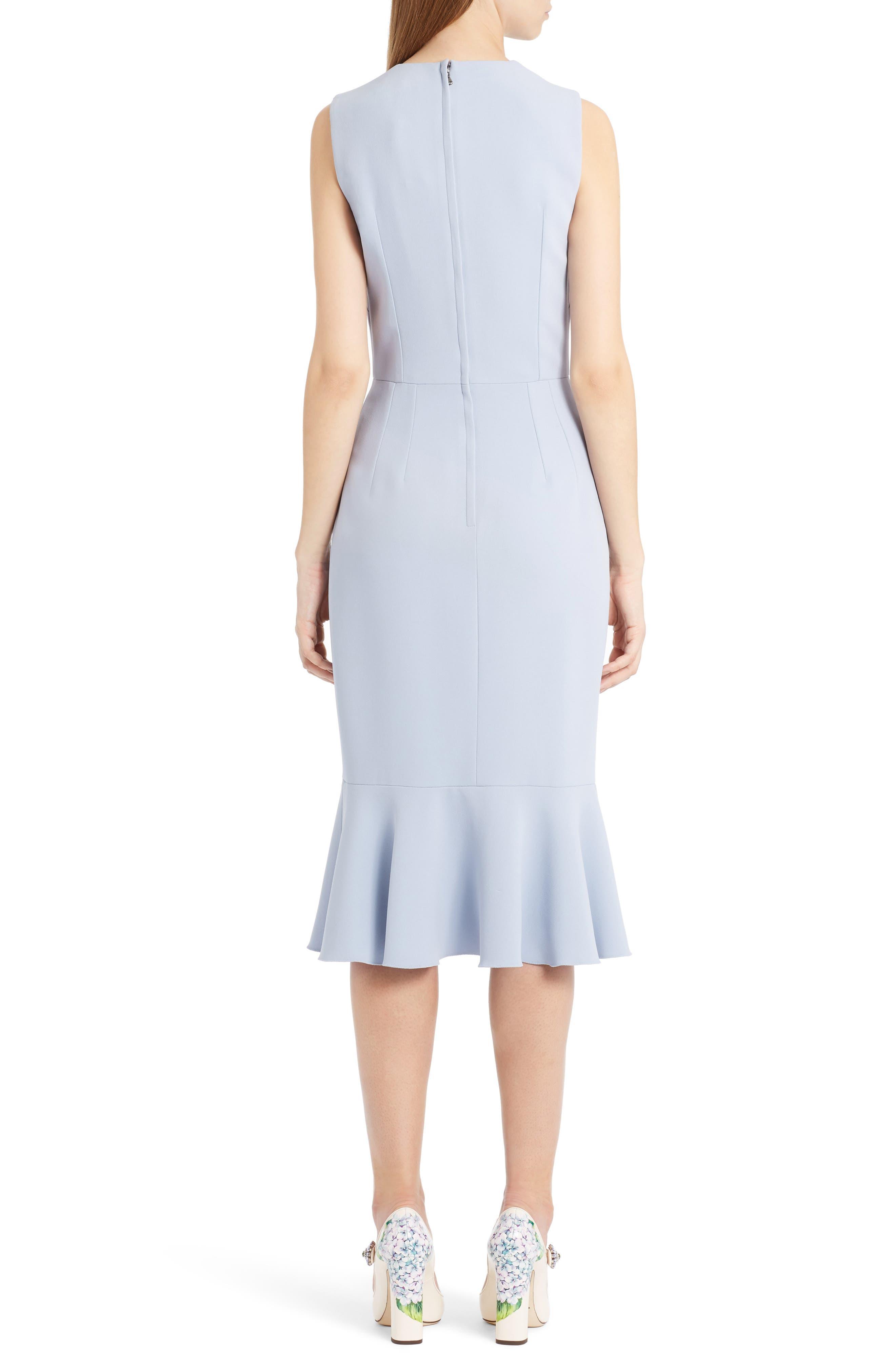 Alternate Image 2  - Dolce&Gabbana Embellished Ruffle Hem Dress