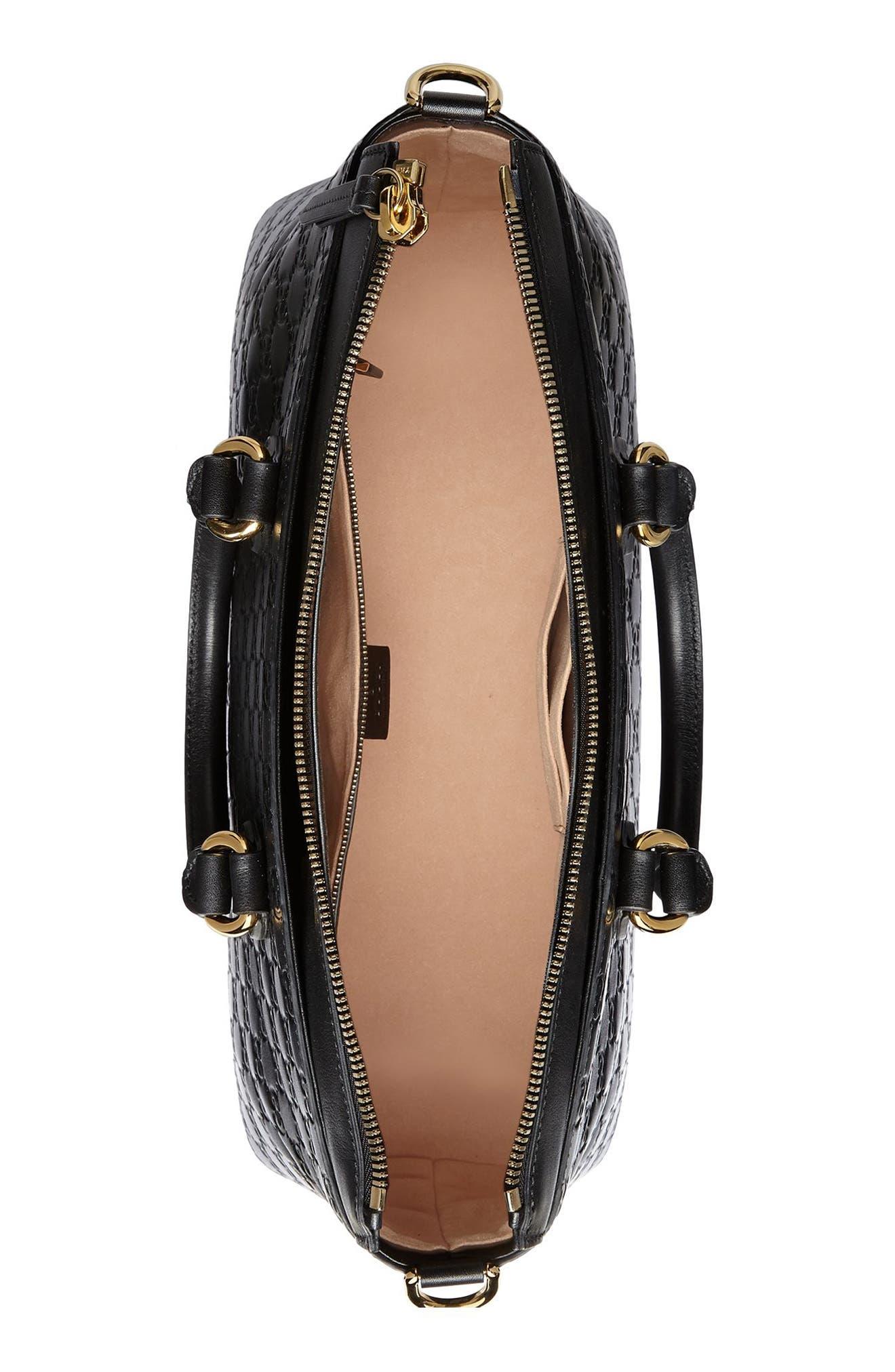 Alternate Image 3  - Gucci Medium Top Handle Signature Leather Tote