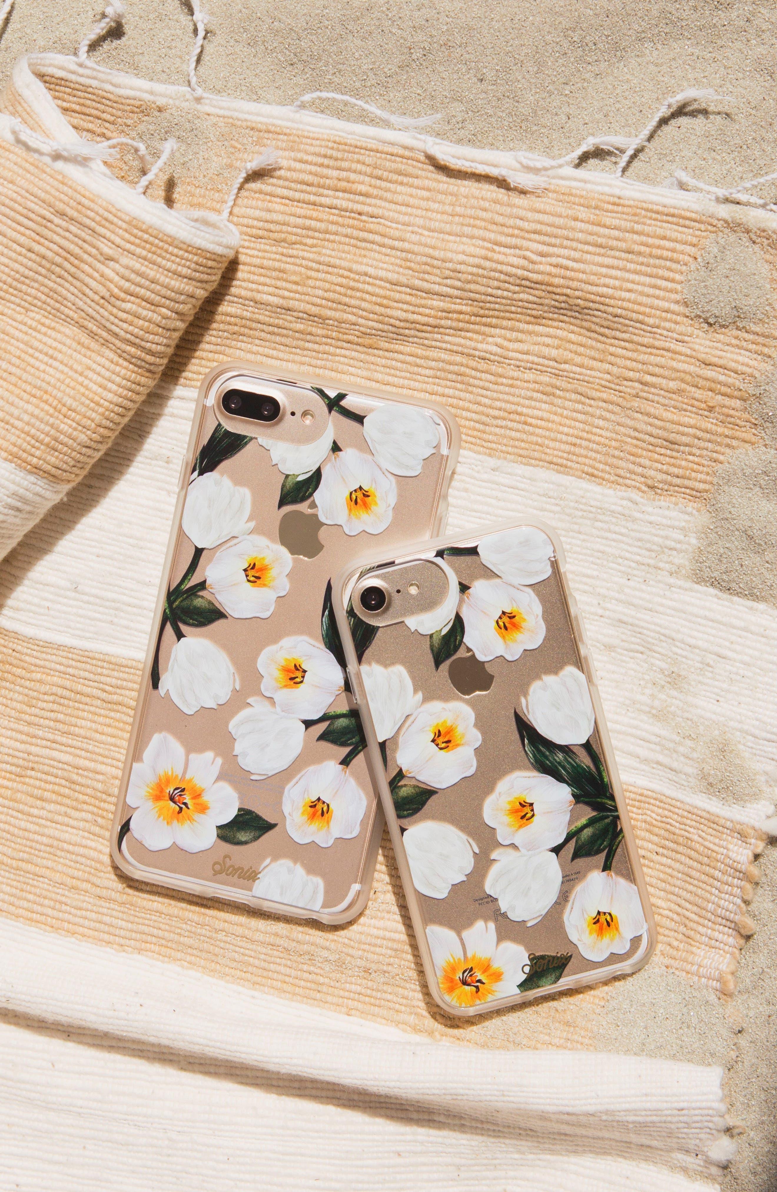 Tulip iPhone 6/6s/7/8 & 6/6s/7/8 Plus Case,                             Alternate thumbnail 3, color,                             White