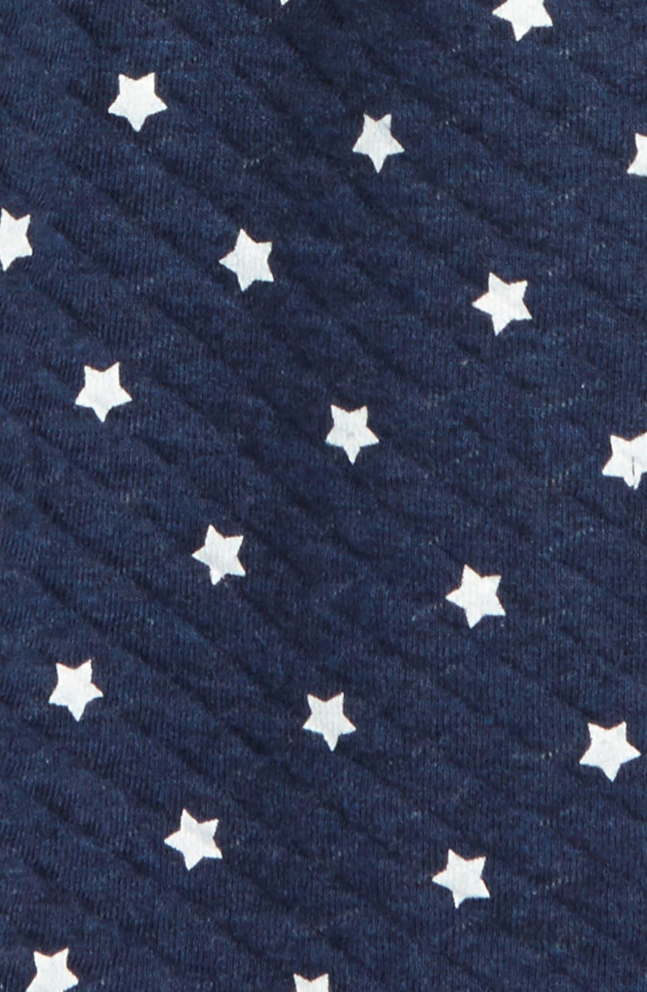 Thea Star Skirt,                             Alternate thumbnail 2, color,                             Navy Peacoat Heather Stars