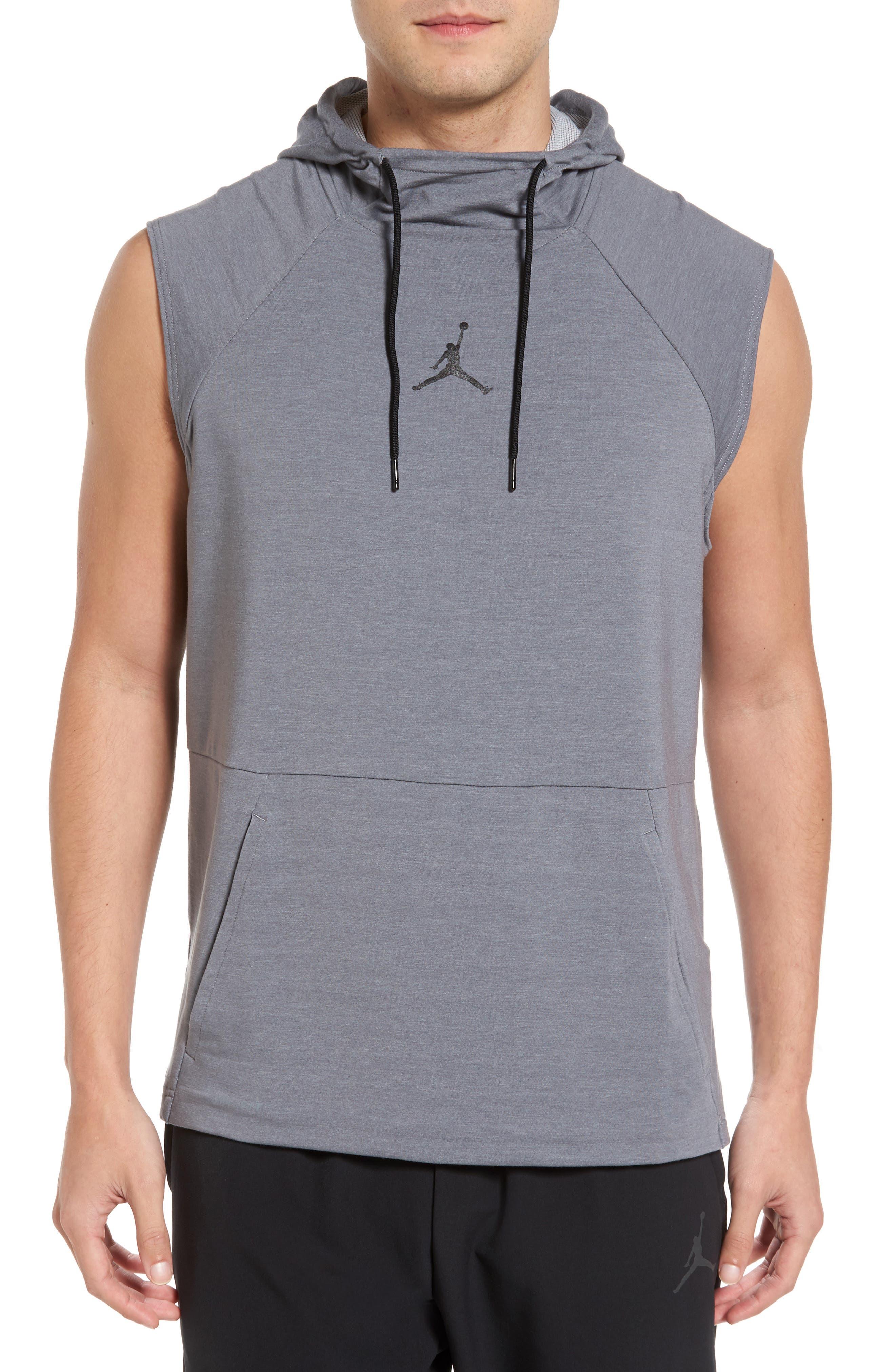 Alternate Image 1 Selected - Nike Jordan 23 Tech Sphere Sleeveless Training Hoodie