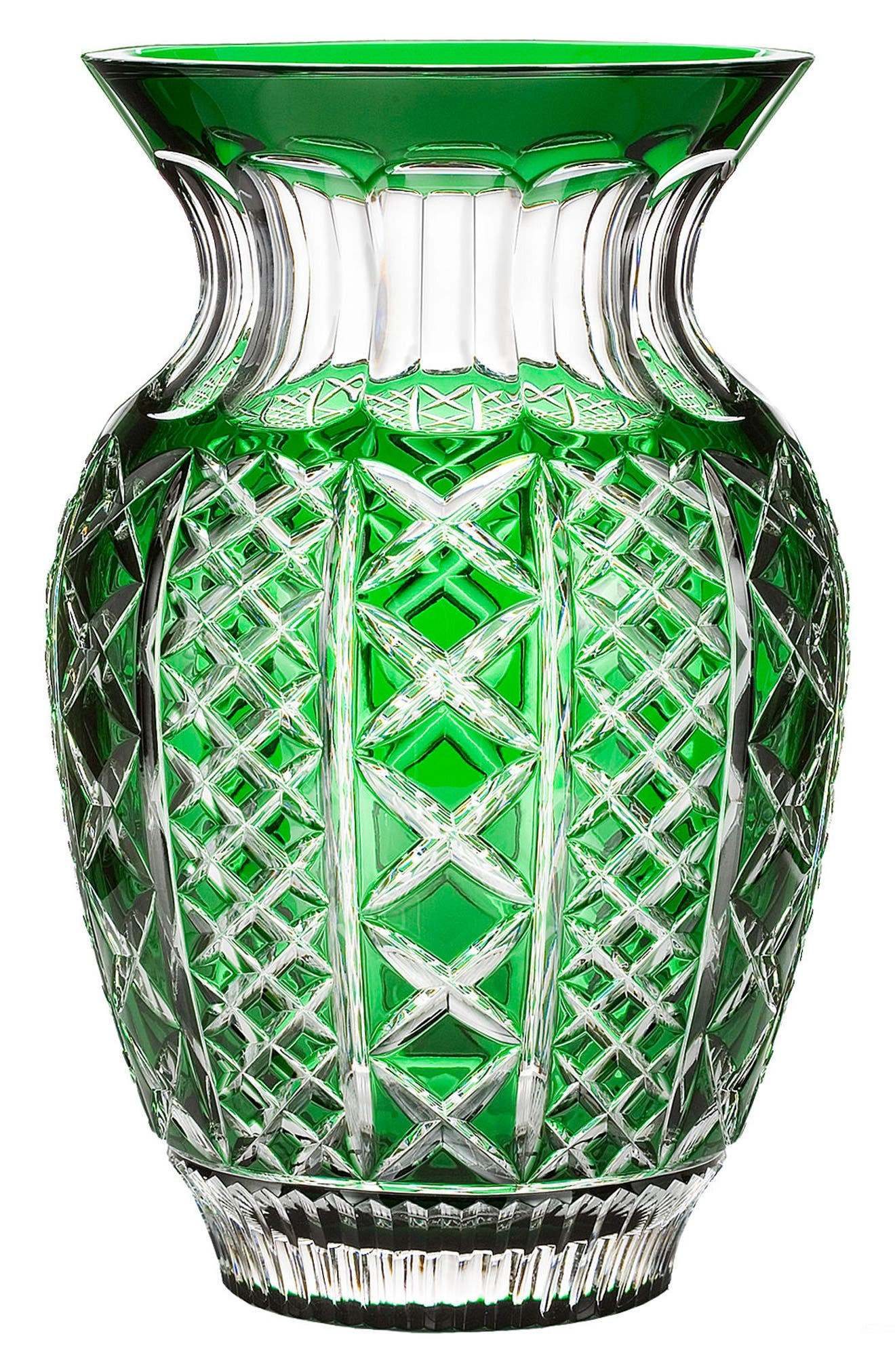 Waterford Fleurology Jeff Leatham Molly Emerald Bouquet Vase